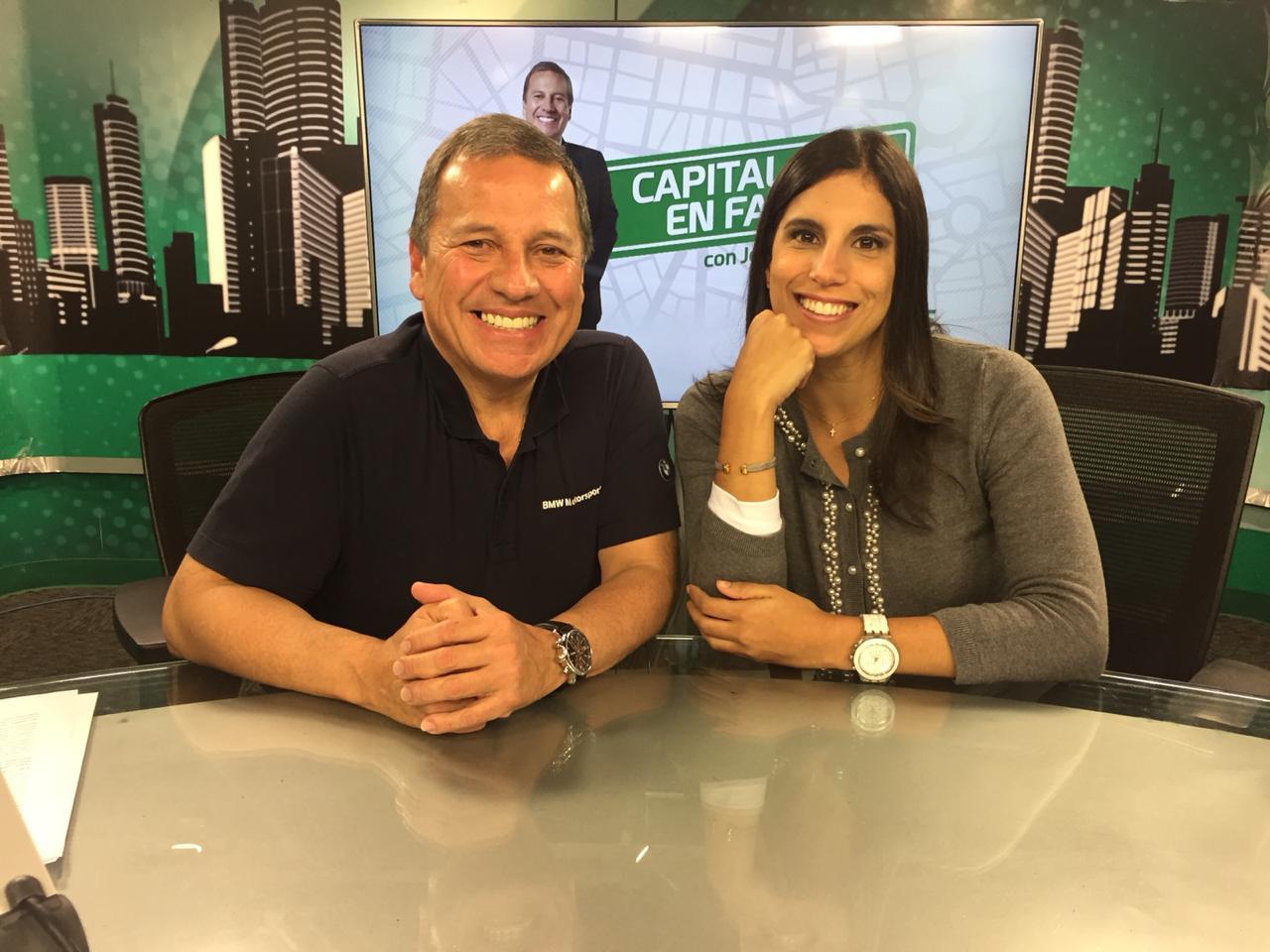 Entrevista con Jesus Alzamora en Capital Tv