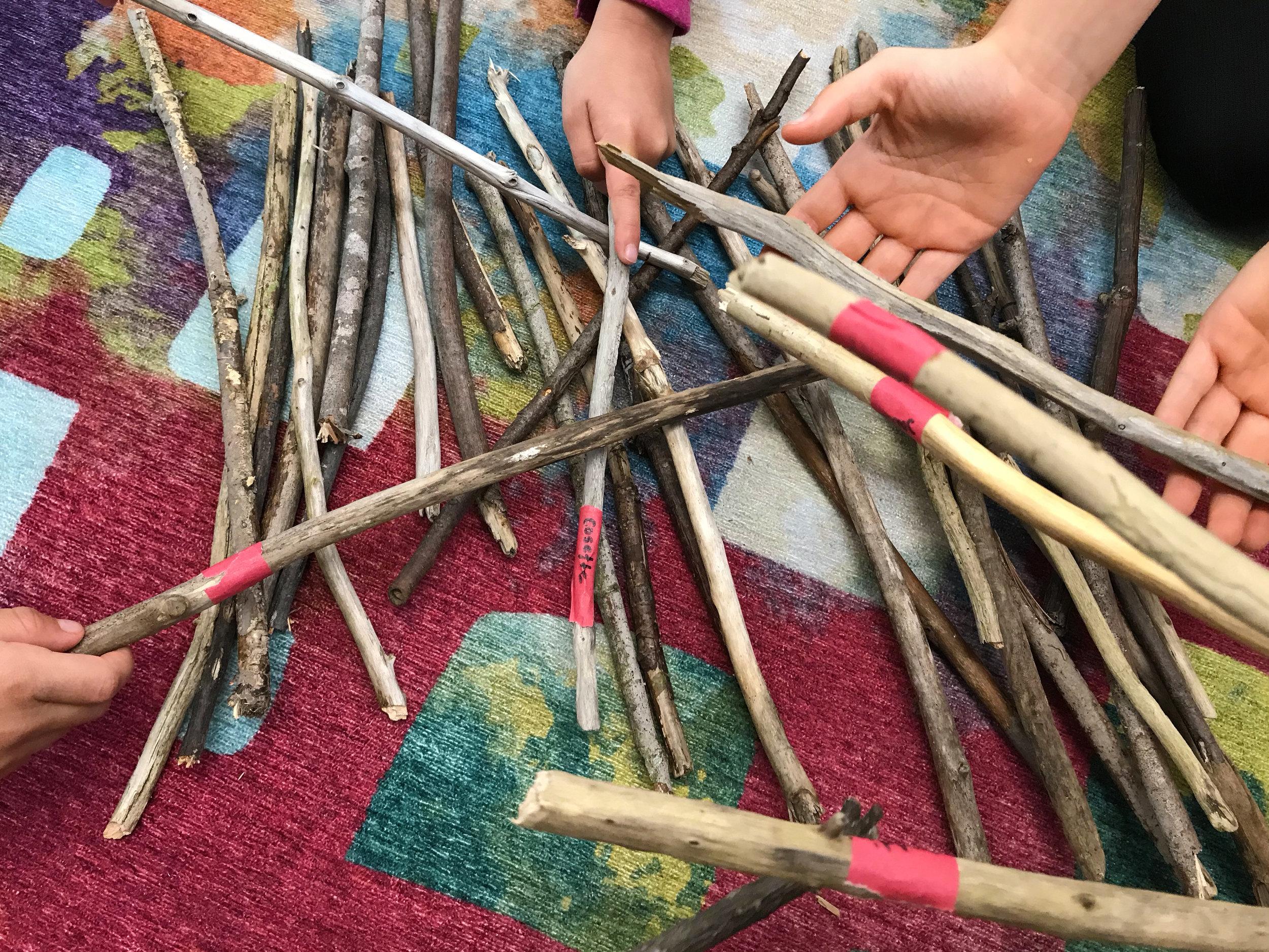 Sticks, Not Screens -
