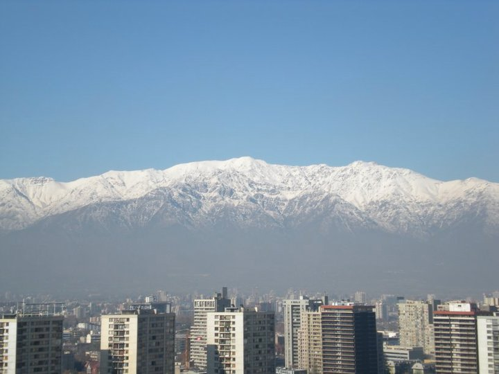 Andes mountains, Santiago, Chile - 2010