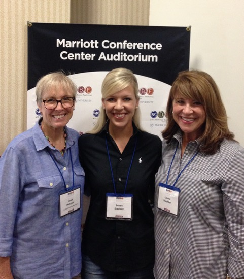 Susan and Laura Stachler, authors of the memoir  The Cookie Cure , which Janet (left) co-narrated with Amy Talmadge.