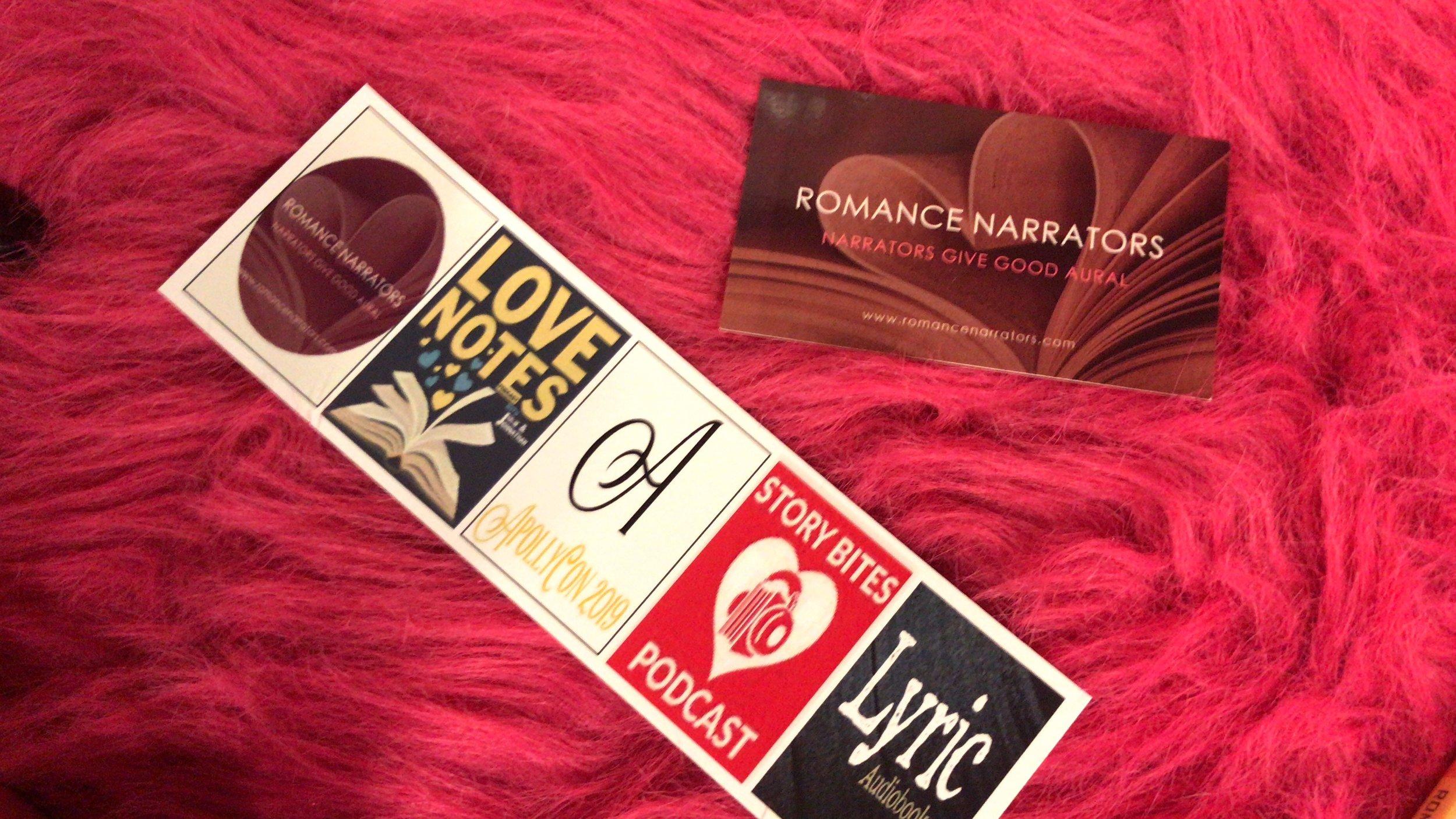 A listener created their own custom bookmarks!