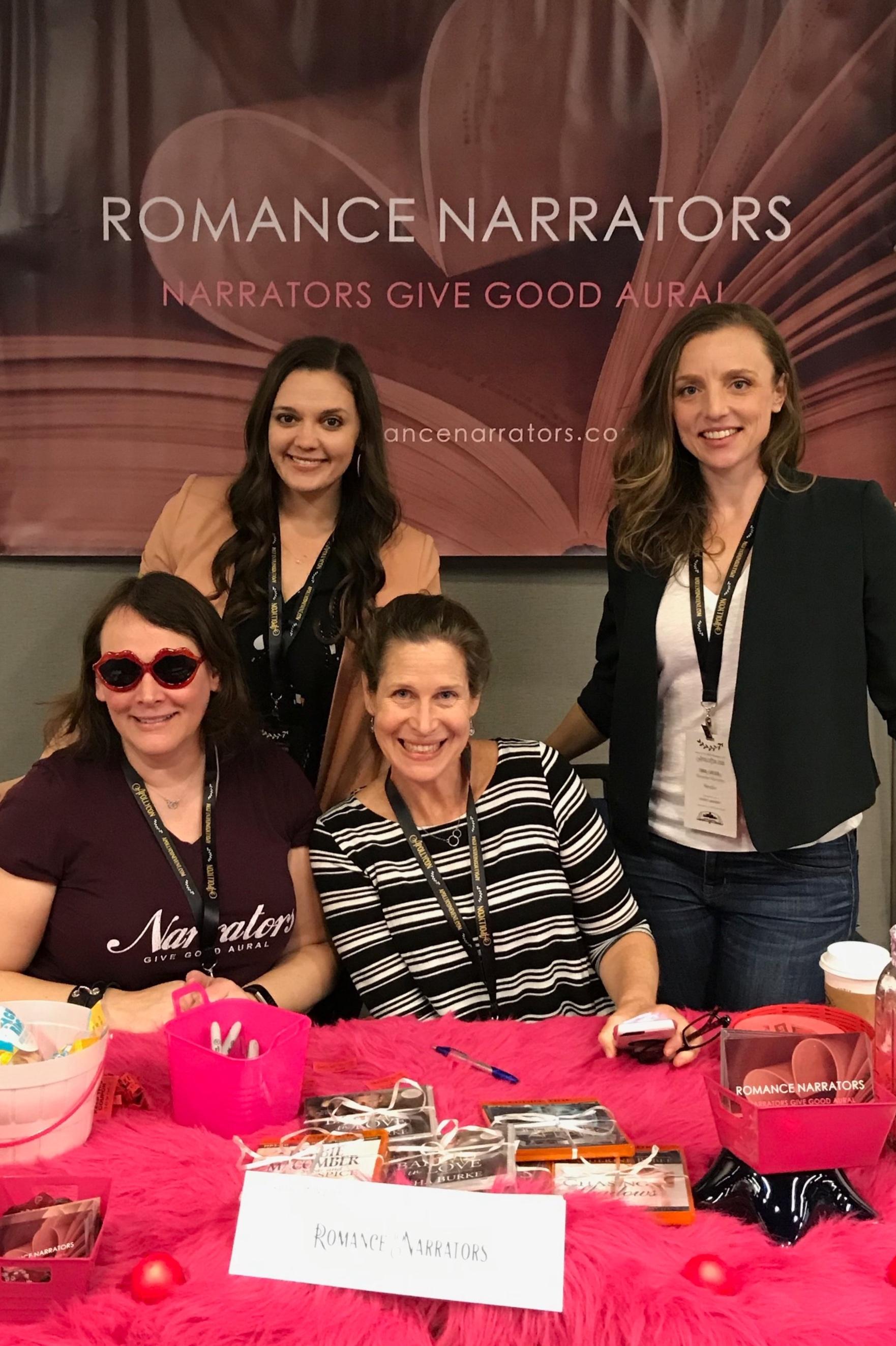 Lia Langola, Savannah Peachwood, Karen White & Emma Wilder