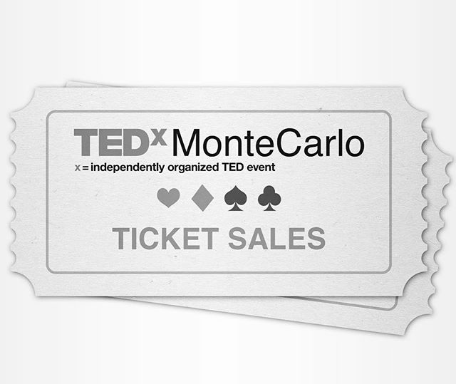 TEDxMonteCarlo 2017 - License To Know tickets are NOW ON SALE! www.tedxmontecarlo.com/tickets  November 11th 2017 -  @grimaldiforum  Interested in becoming a partner?  Email: partnerships@tedxmontecarlo.com  Interested in attending as a team?  Additional discounts for corporate participation, CREM and MEB members for more details on this contact us at: tickets@tedxmontecarlo.com. - #TEDxMonteCarlo #ticketsonsalenow #LicenseToKnow #GrimaldiForum #MonacoEvents #Monaco #MonteCarlo #Entrepreneur #Safety #Security #IdeasWorthSpreading