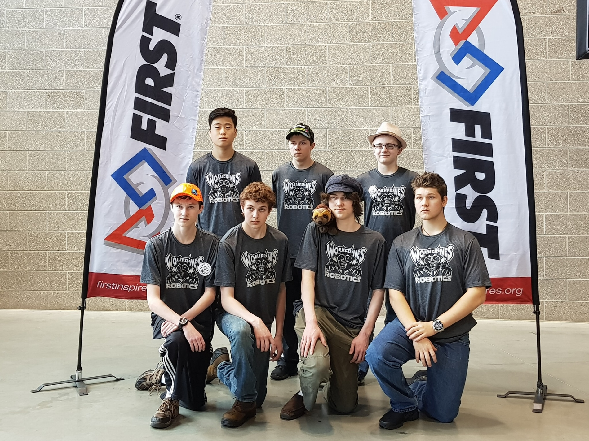 CHS FTC Robotics Official Team Photo, Western US Championship 2018.  Courtesy  Cordova FIRST Public Group .