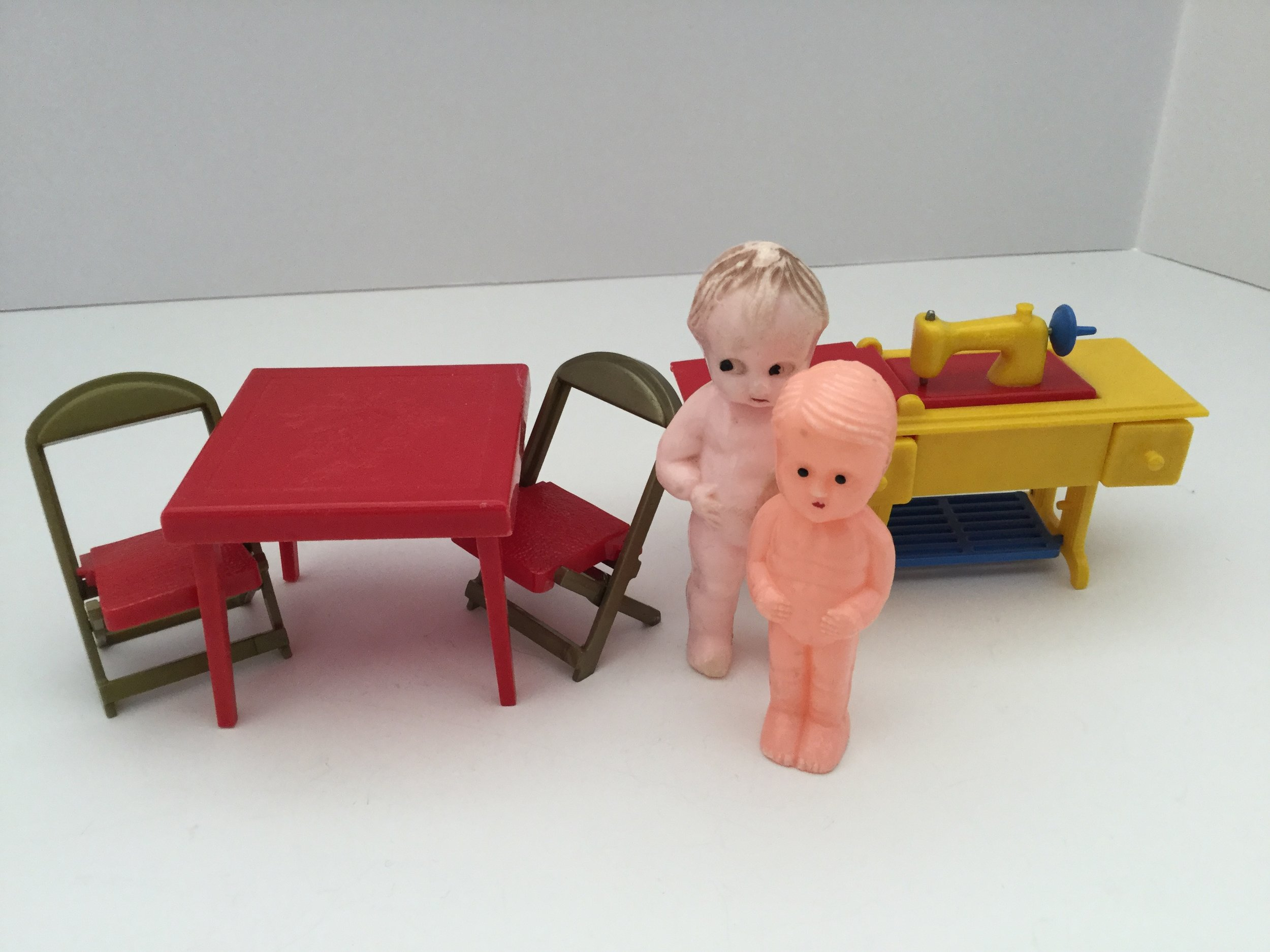 Renwal doll house furniture is now very collectible and valuable.