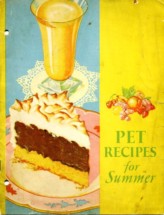 1932 Pet Recipes for Summer ... Pet Milk booklet