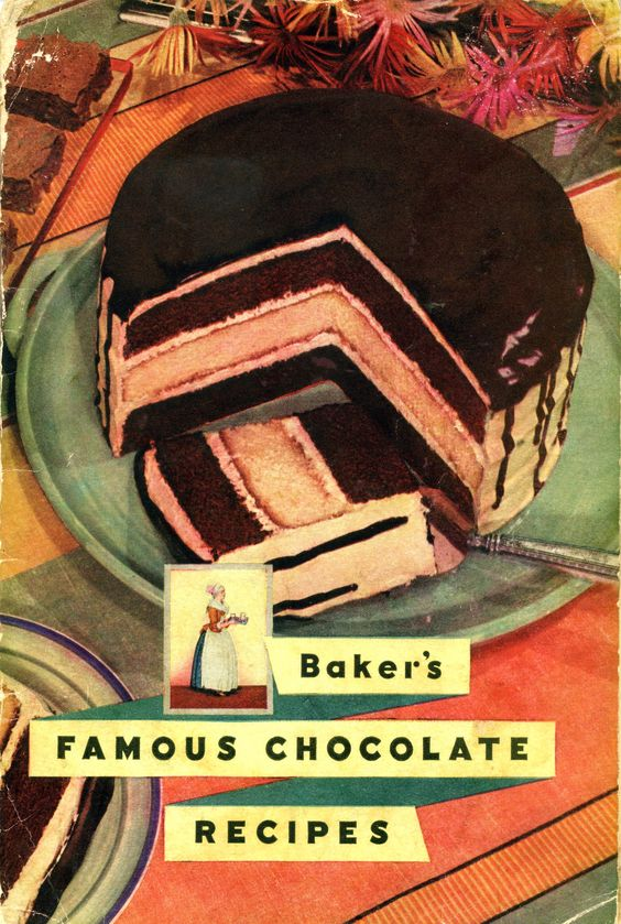 1936 Baker's Famous Chocolate Recipes ... I still use Baker's Chocolate