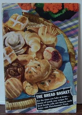 1942 The Bread Basket by Fleischmann's Yeast ... this is the booklet that both my mother and her mother-in-law owned. My parents married in June, 1942. Until then my father had lived at home in Austin, Texas. He graduated from the University of Texas and married in June. His new job with Westinghouse Electric took the newly weds to Pennsylvania ... far from home.