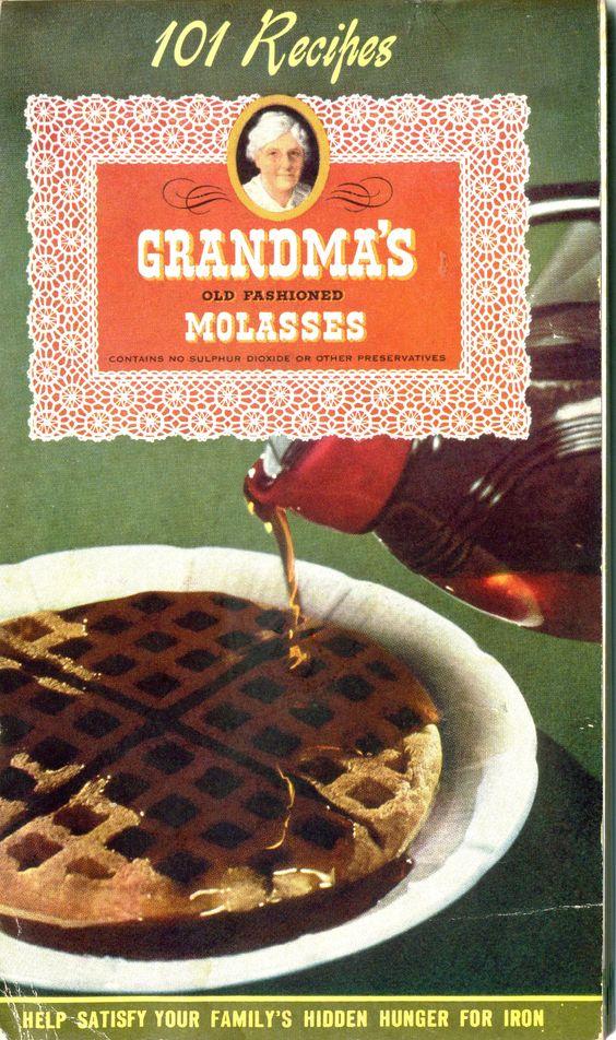 1946 ... 101 Grandma's Molasses Recipes