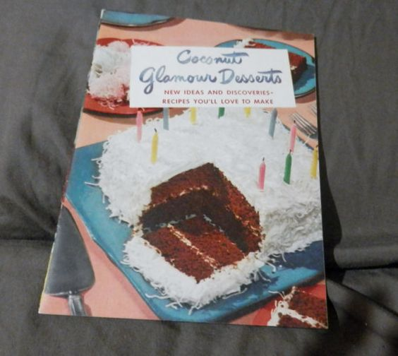 1948 Coconut Glamour Desserts from Baker's Coconut