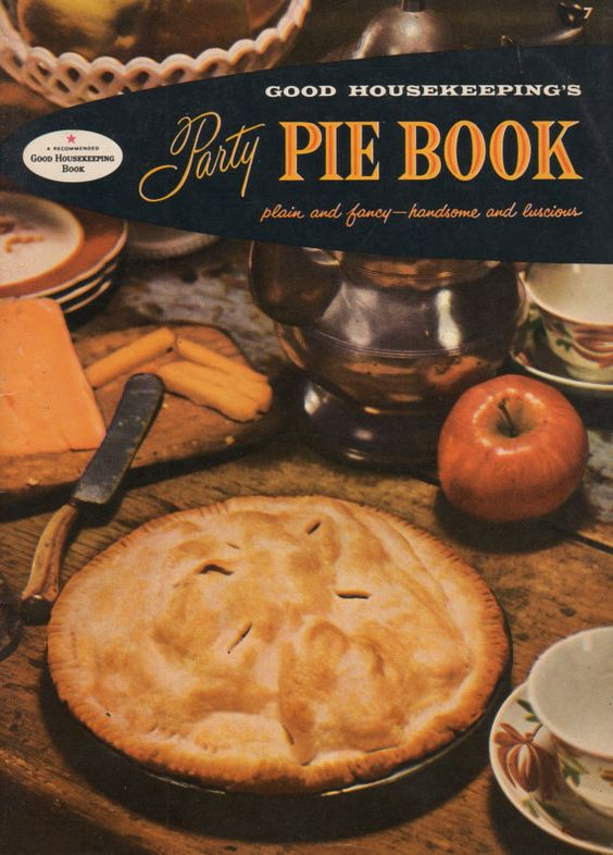 1950s Good Housekeeping Party Pie Book