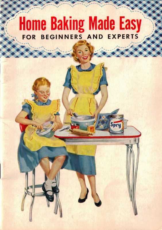1953 Home Baking Made Easy by Spry