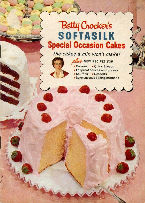 1957 Betty Crocker's Softasilk Special Occasion Cakes