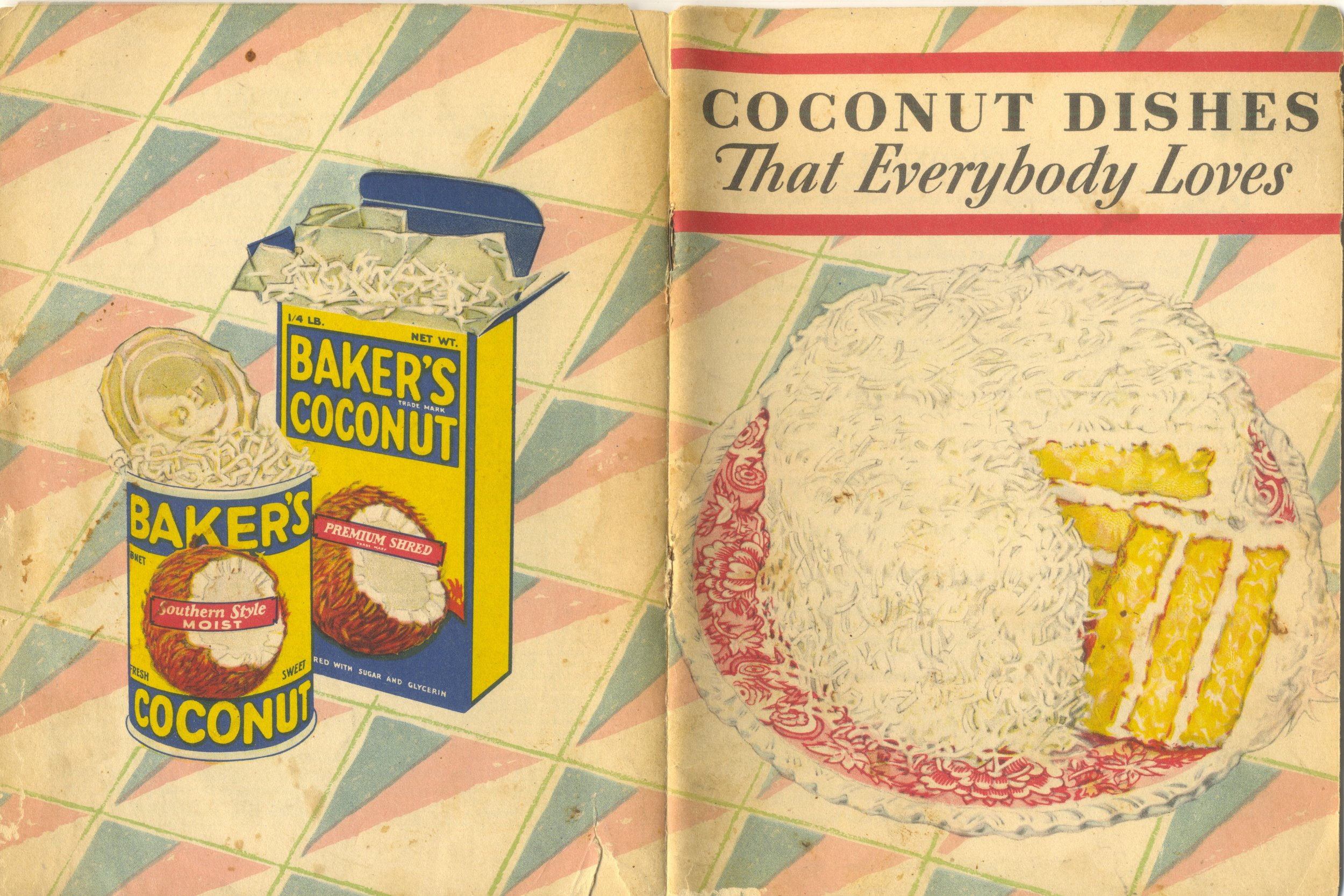 1931 Coconut Dishes That Everybody Loves