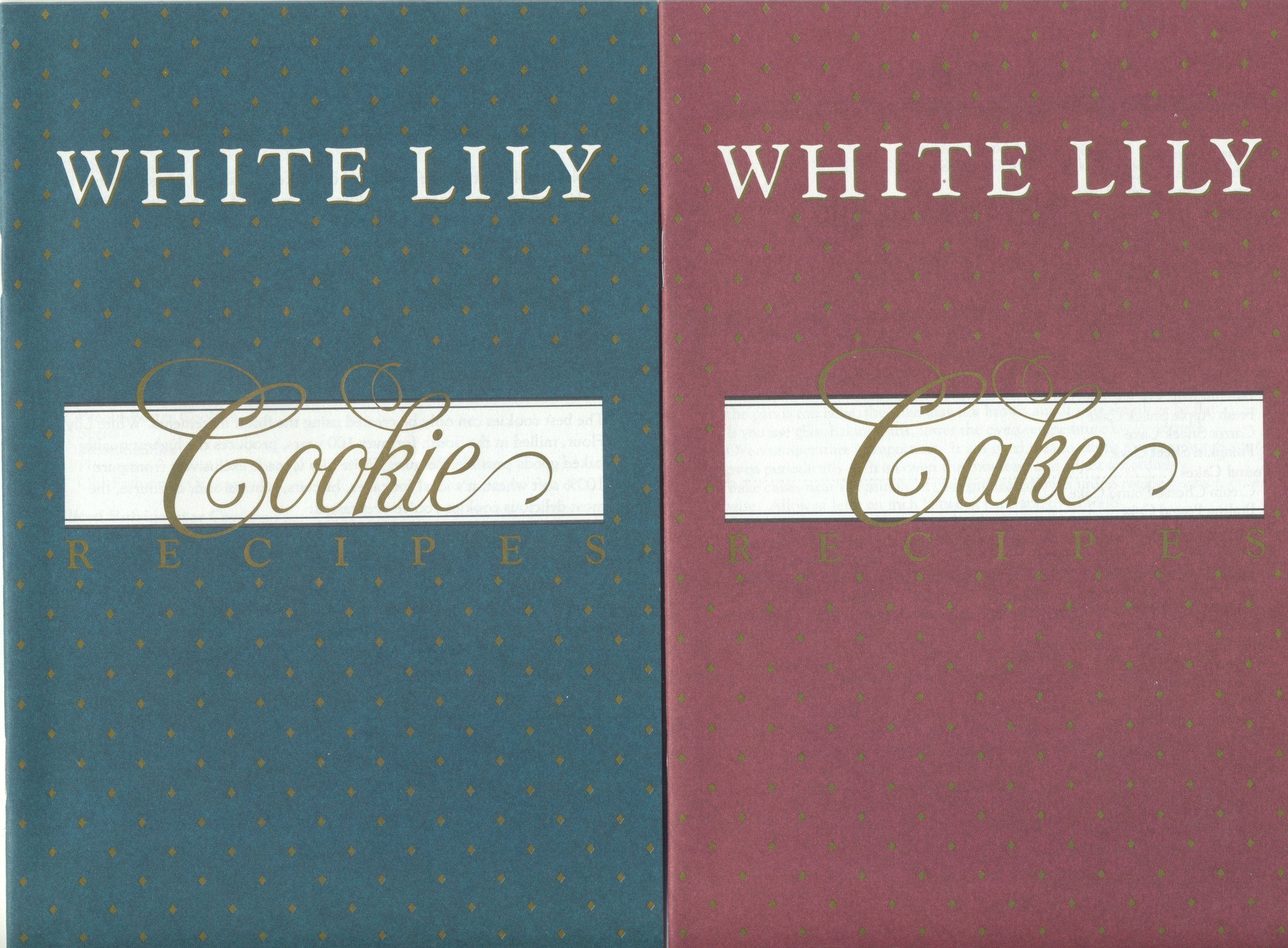 White Lily Flour Cookie and Cake recipes ... favorite flour in the South