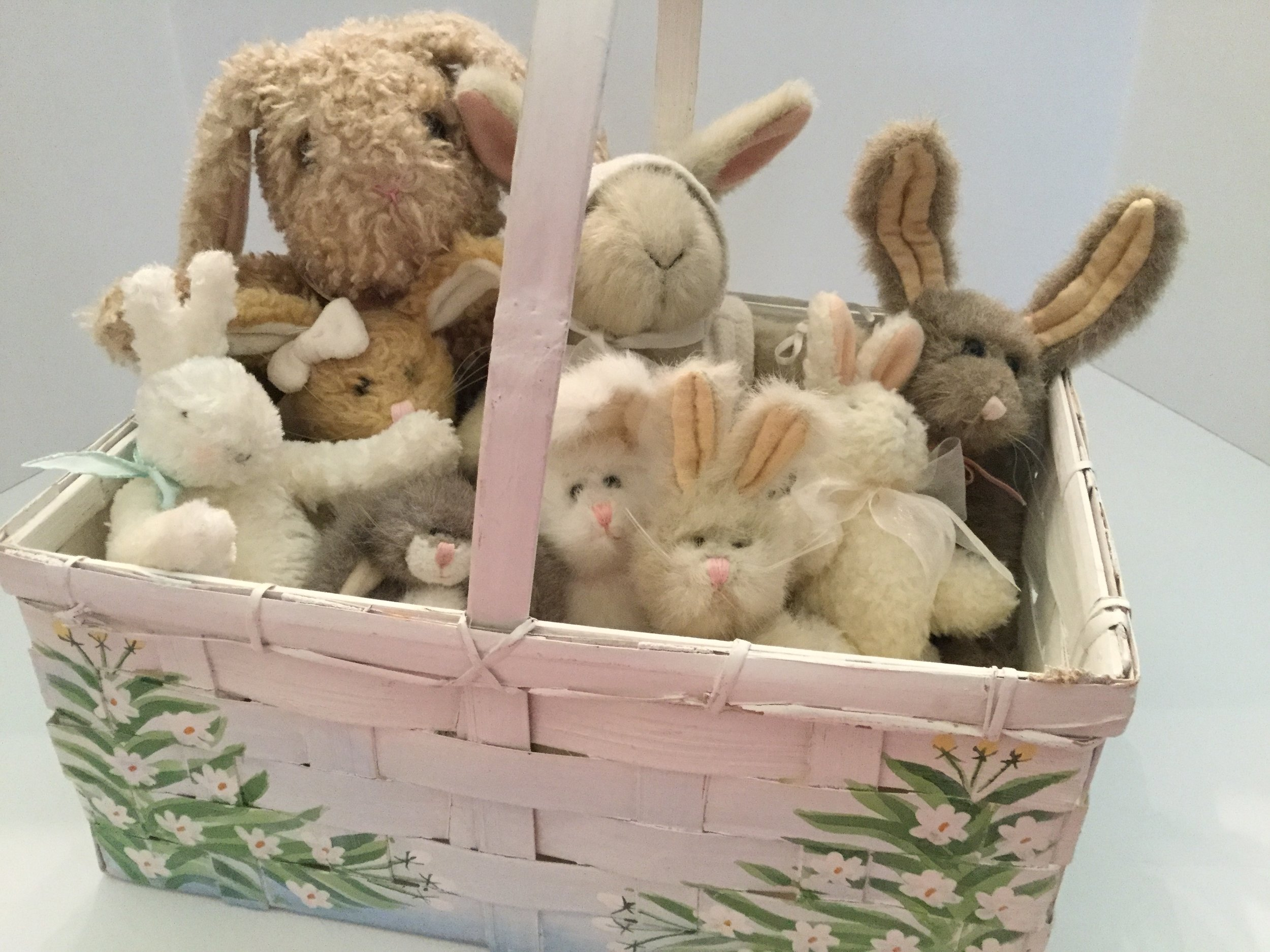 My collection of Easter bunnies