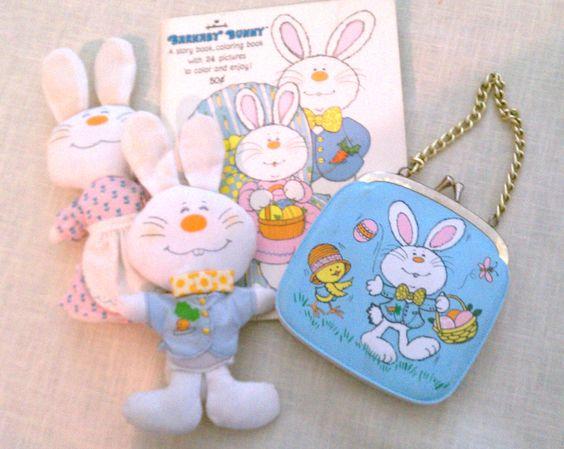 1970s Hallmark Easter items
