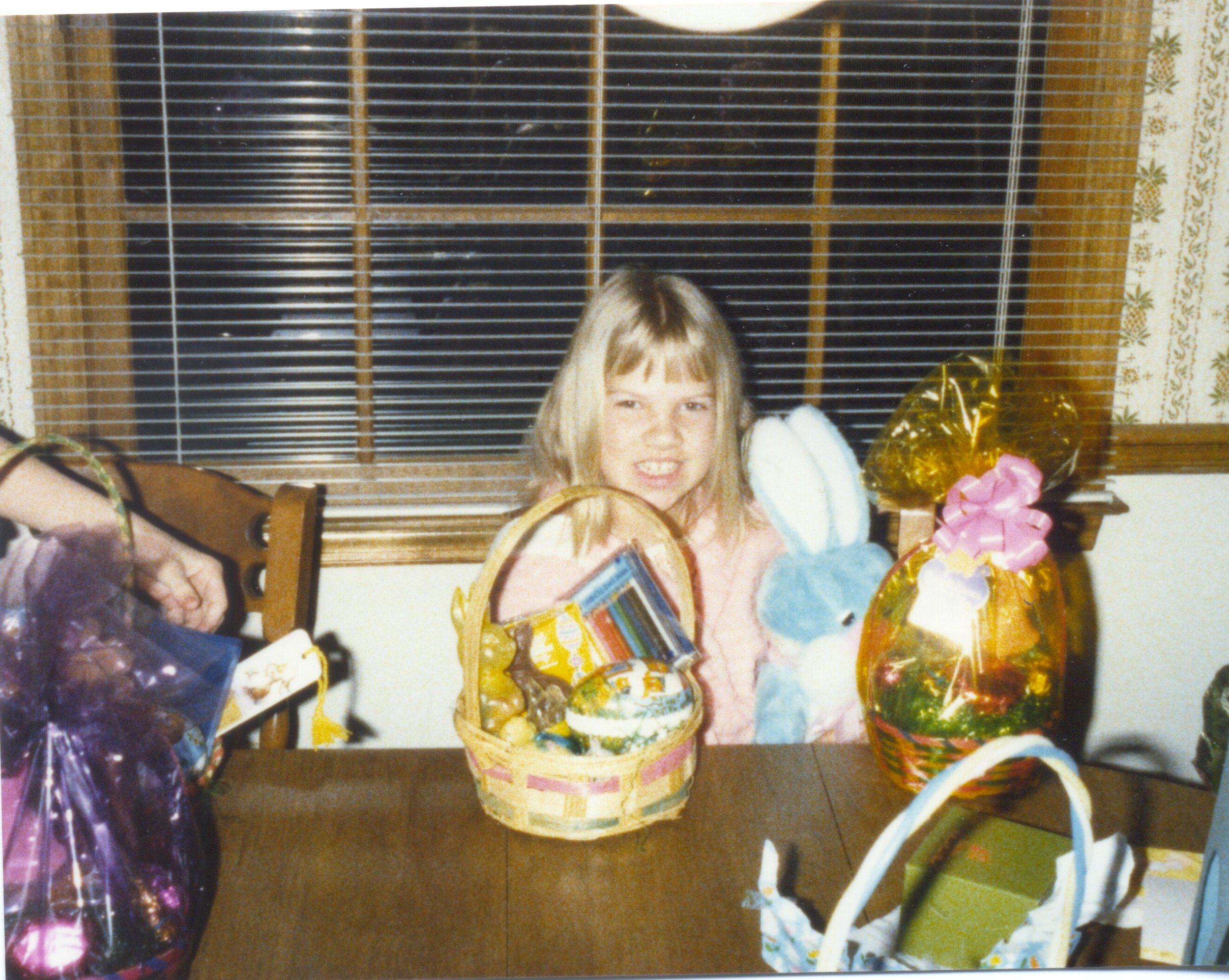 Laurie, Easter 1980
