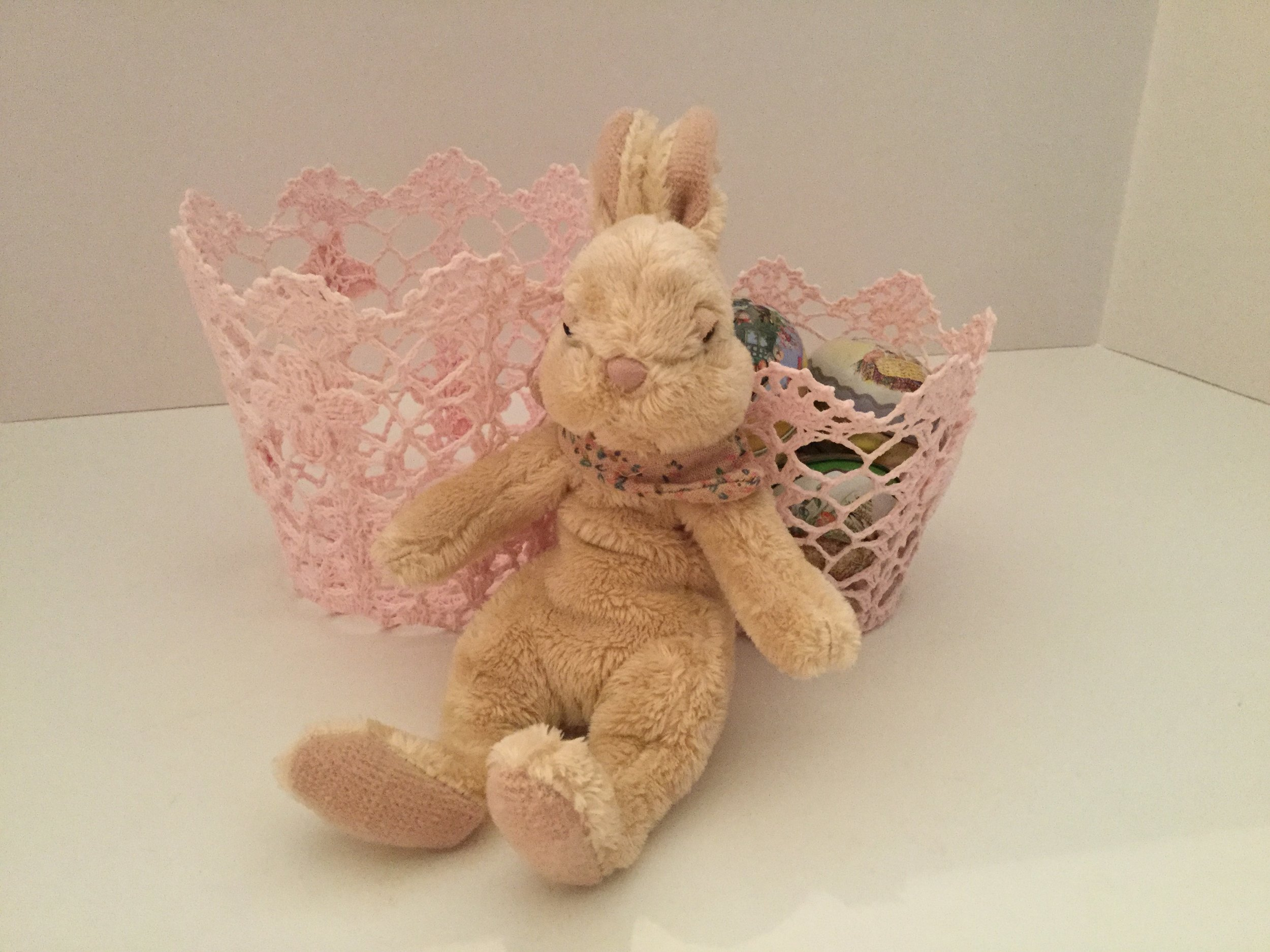 New bunny and pink baskets