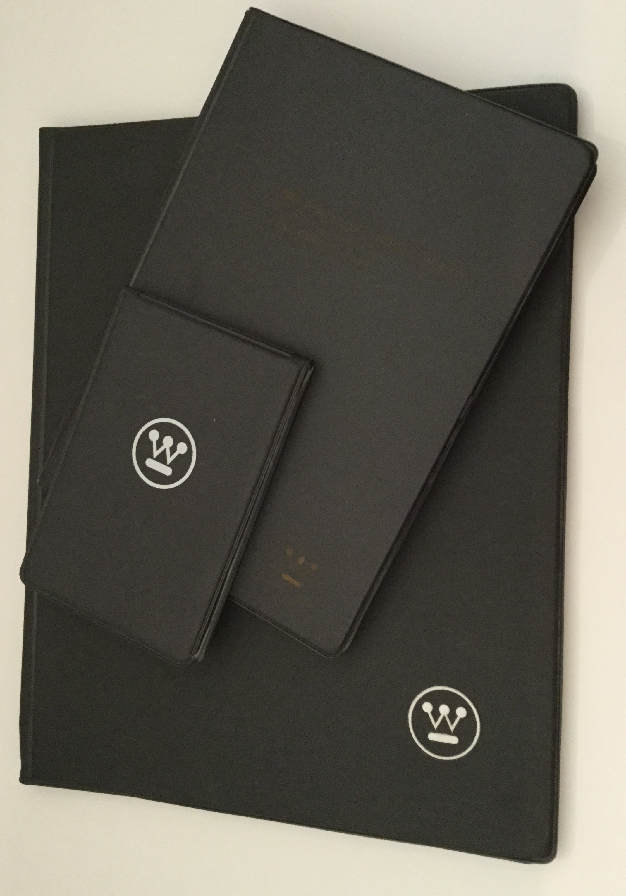 The two larger portfolios belonged to my dad and I collected the smallest one. I use these often.