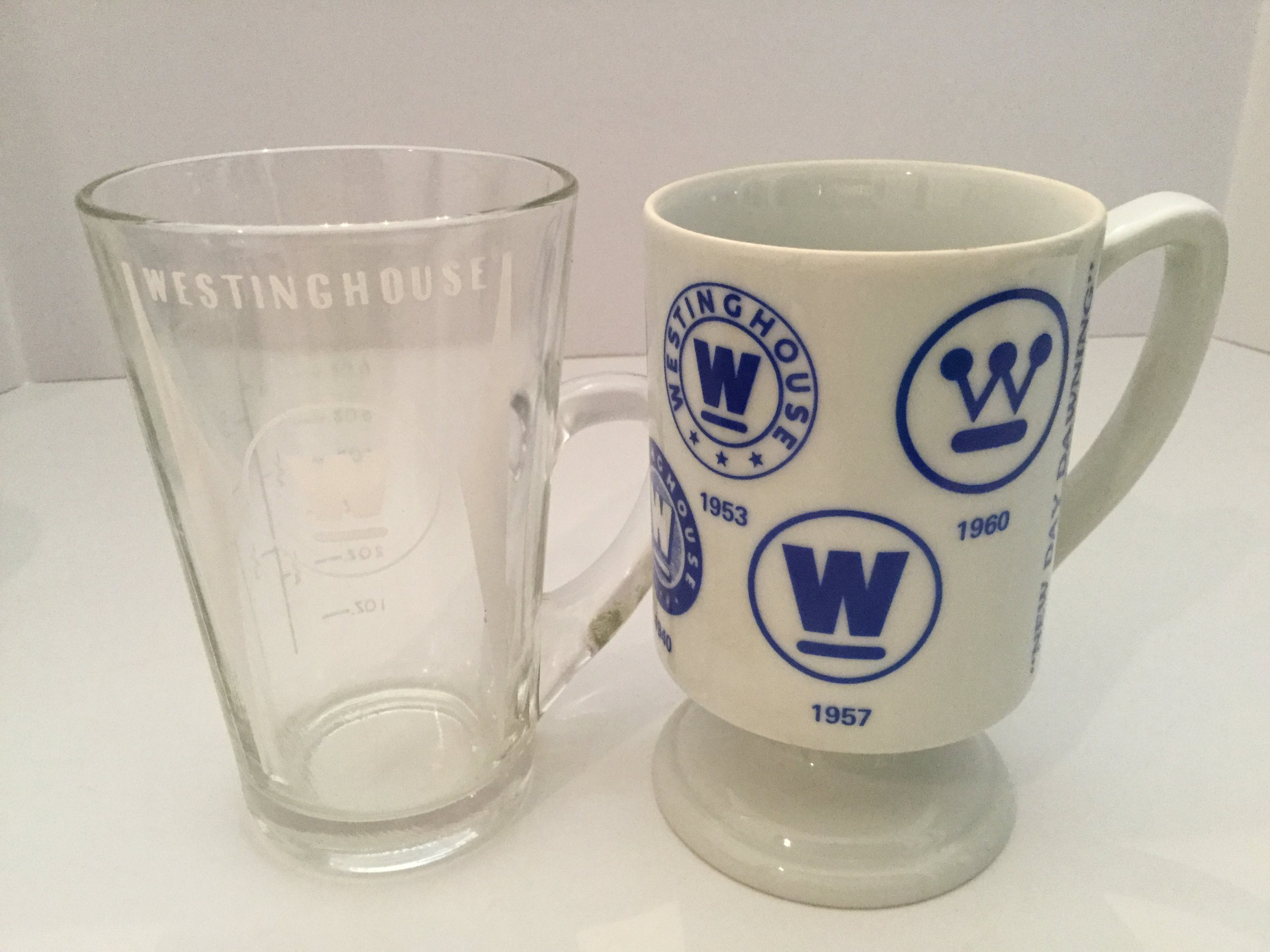I collected these two mugs.