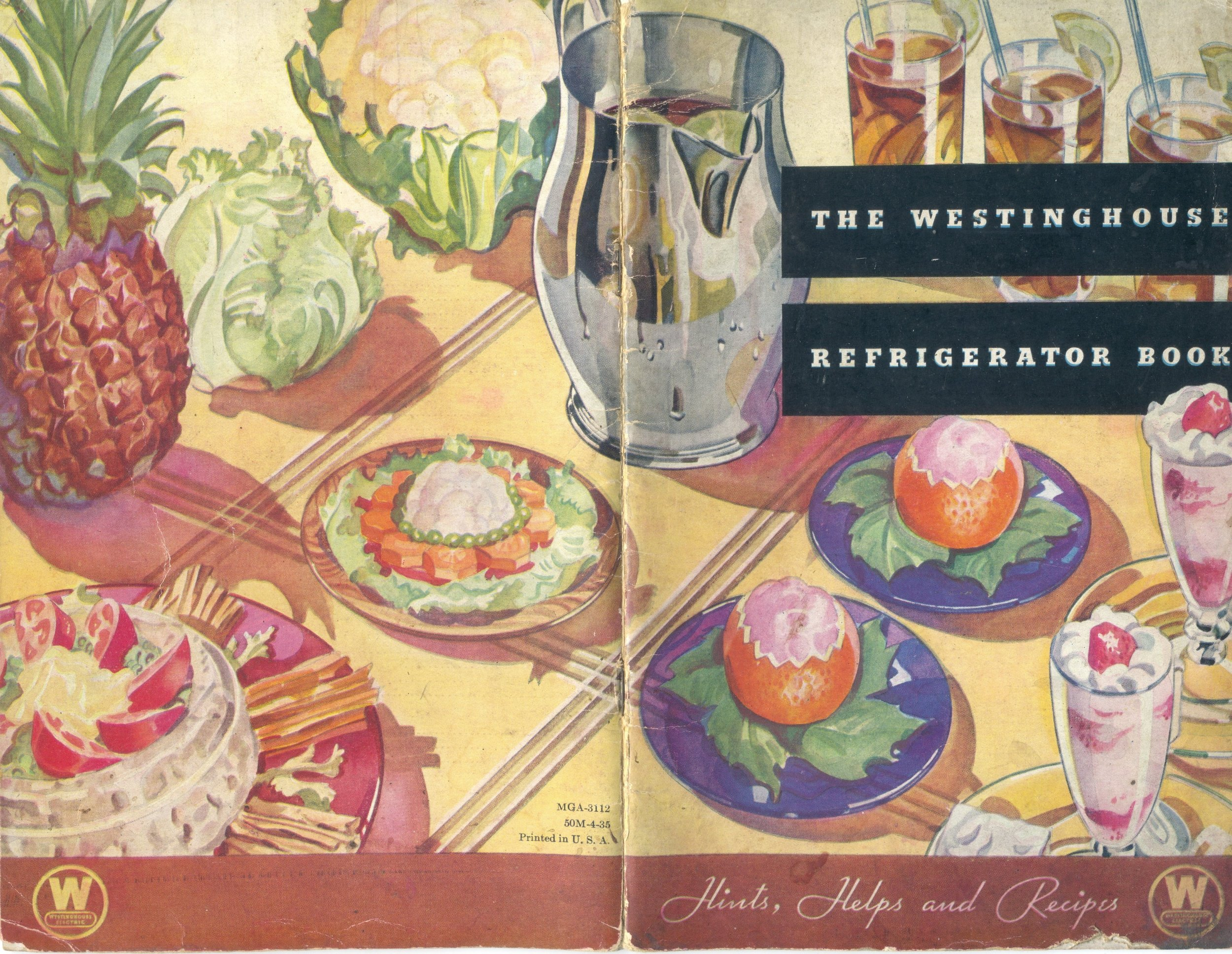One of the first Westinghouse things I collected were appliance booklets ... they had such interesting graphics. This is a 1934 refrigerator booklet.