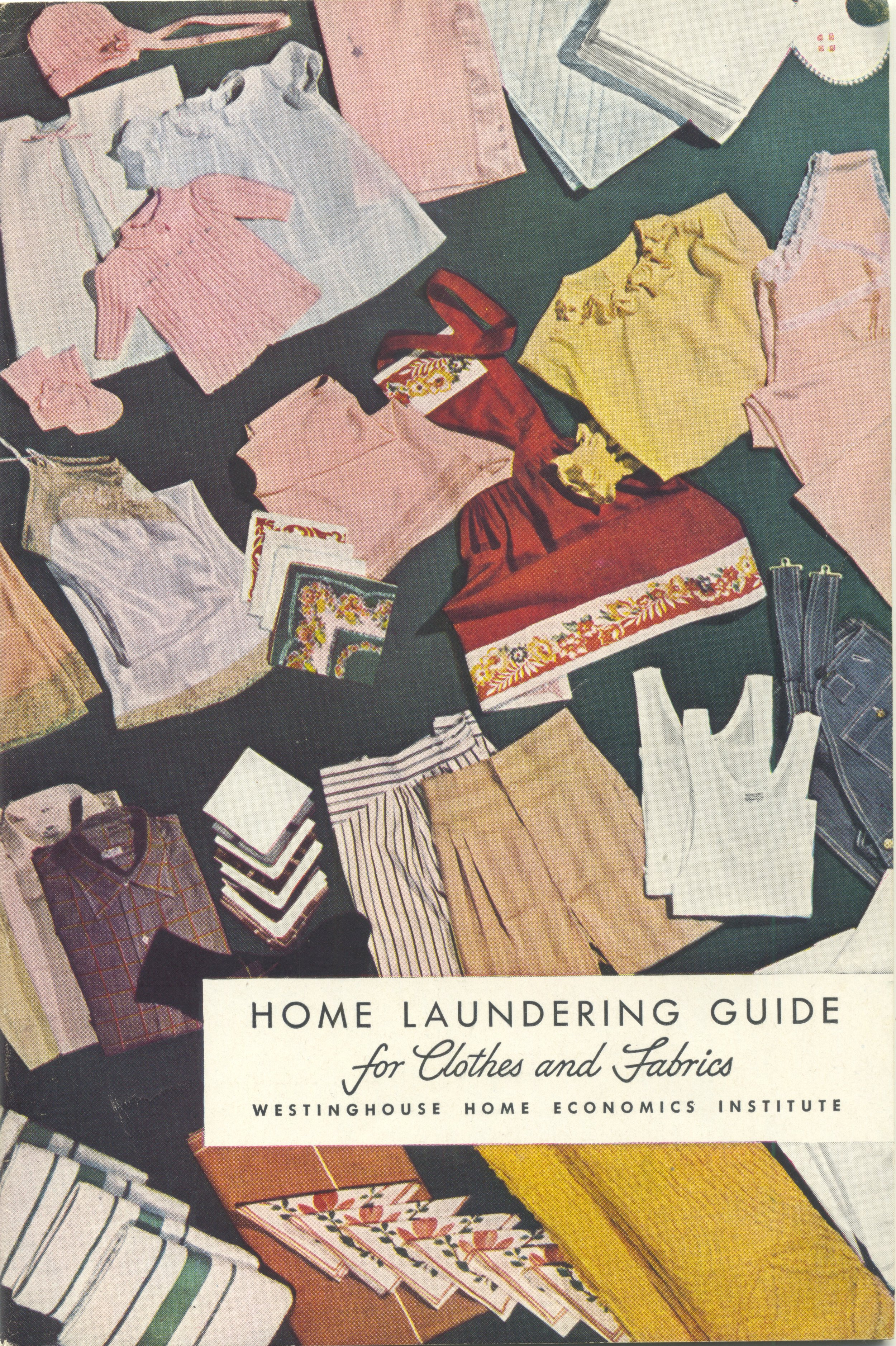 1944 home laundering guide