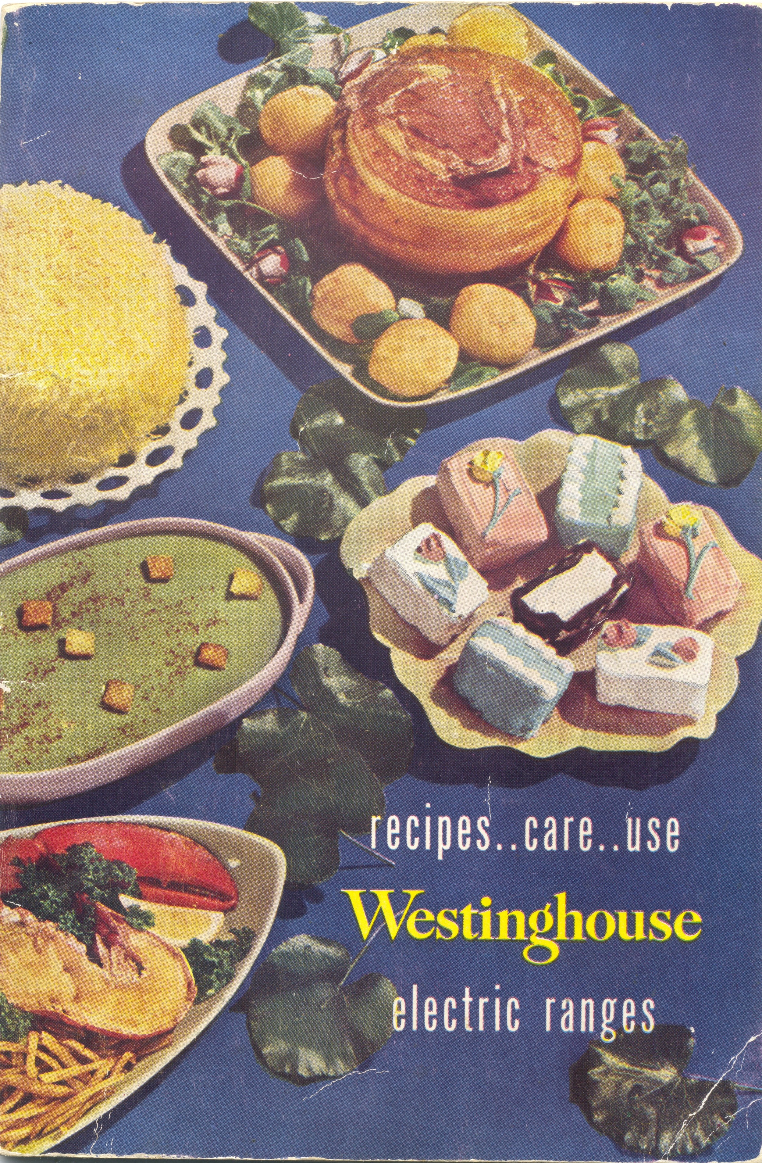 1949 Westinghouse electric range booklet. You can tell a lot about the popular foods of an era in booklets like this.