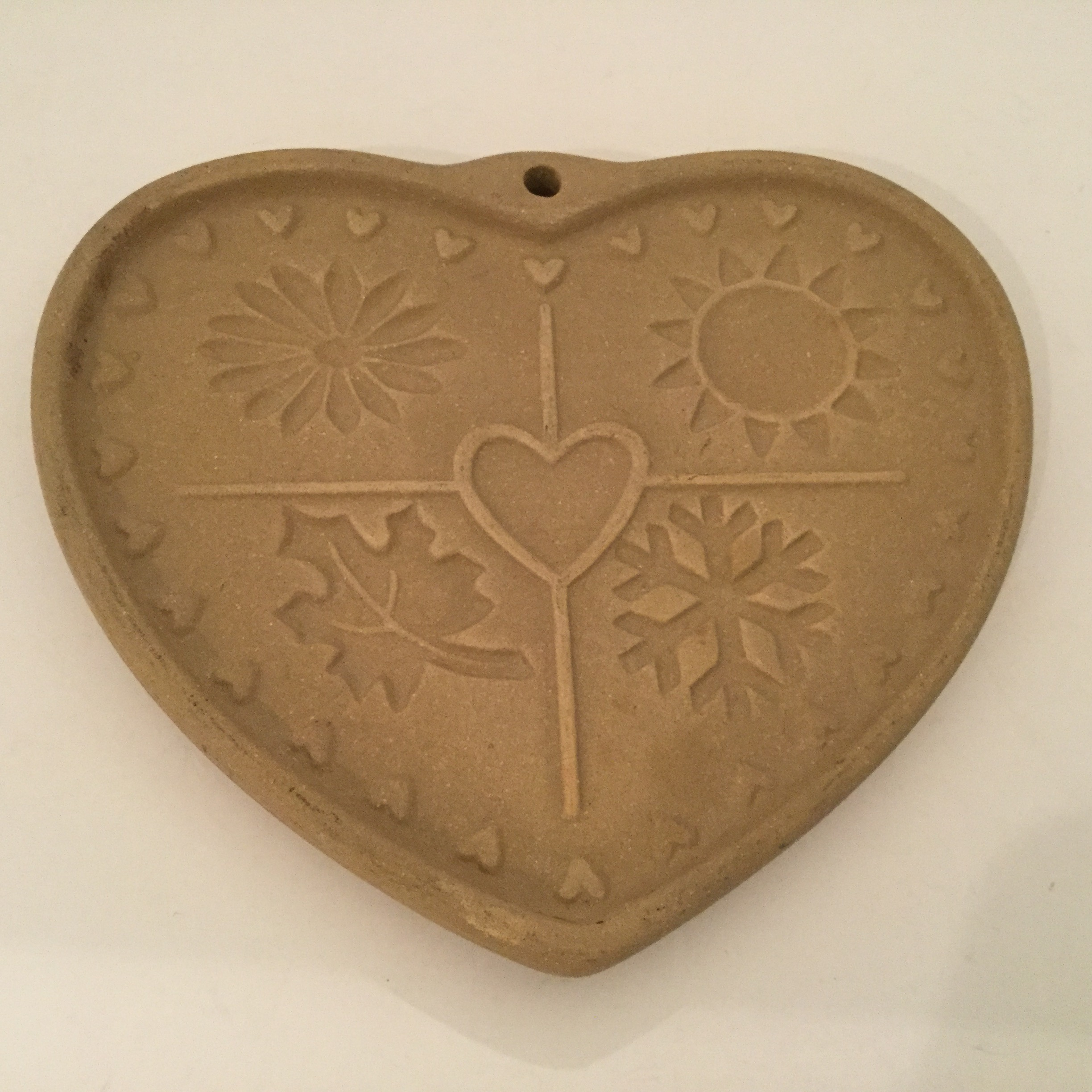 Pampered Chef heart cookie press