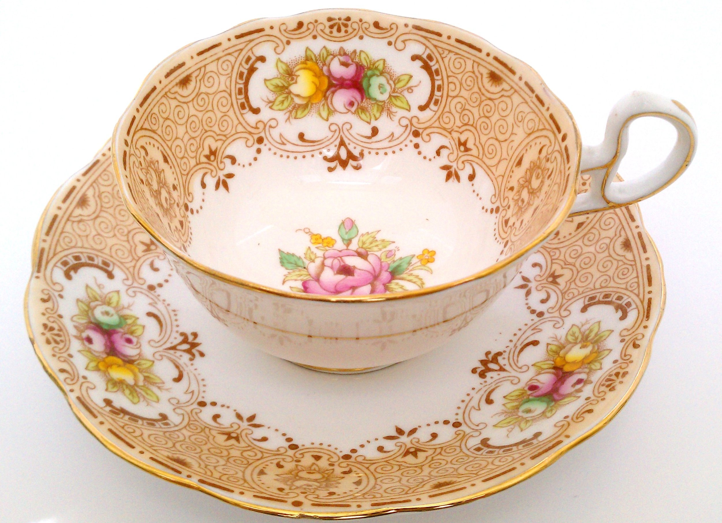 A really beautiful Bell China cup and saucer ... made in England