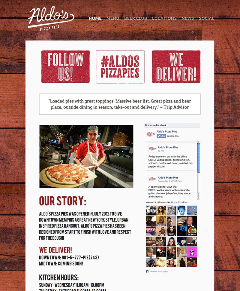 Aldo's Pizza Pies