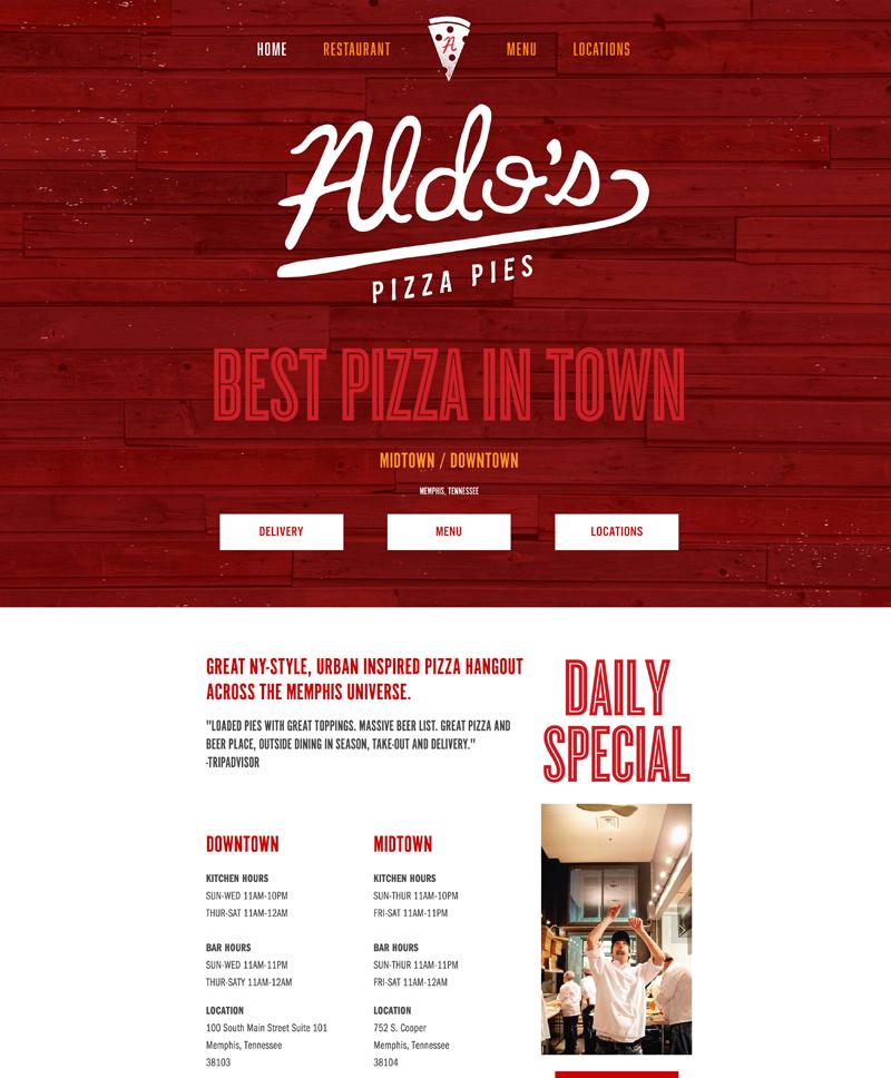 Aldos Pizza Pies