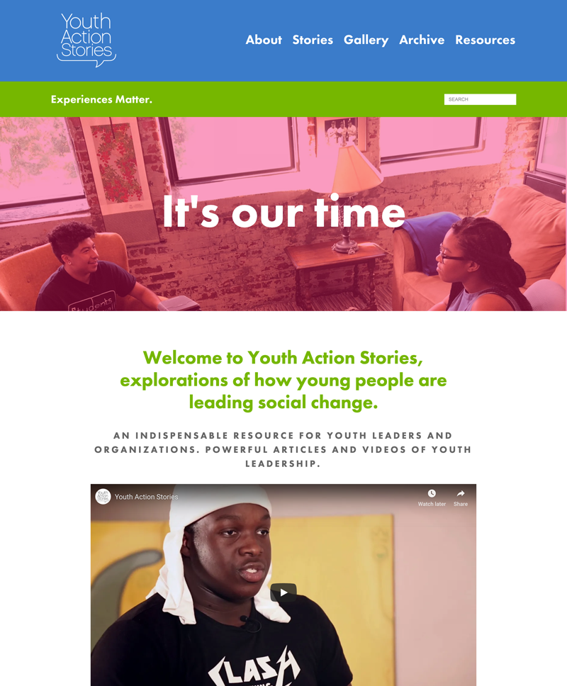 Youth Action Stories