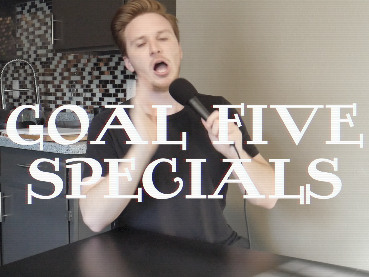 GOAL FIVE: SPECIALS - This goal is truly wild. I'll film 2 hour long stand-up specials and put them out for free.learn more