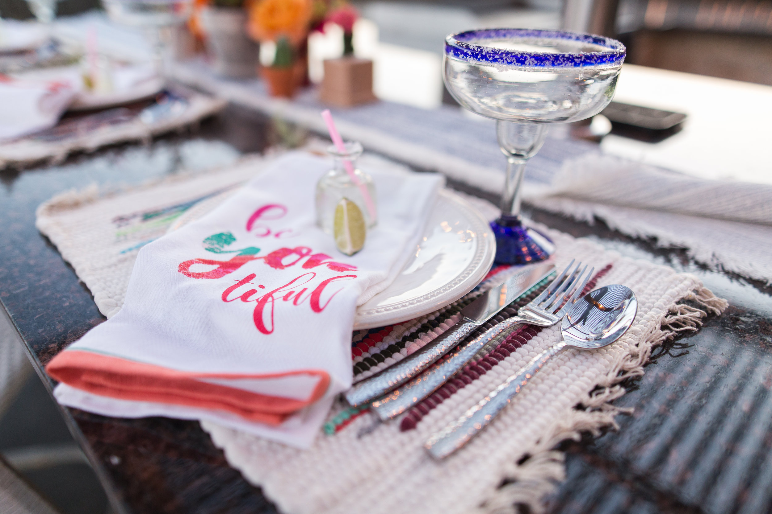 fiesta-place-setting-with-mini-patron-bottle