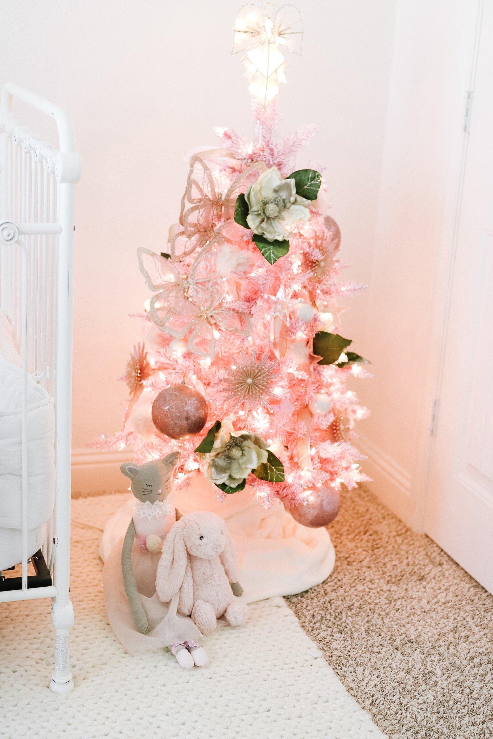Rowan S Pink Christmas Tree Alyse Warren