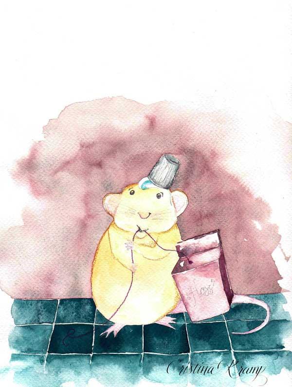 mice floss?
