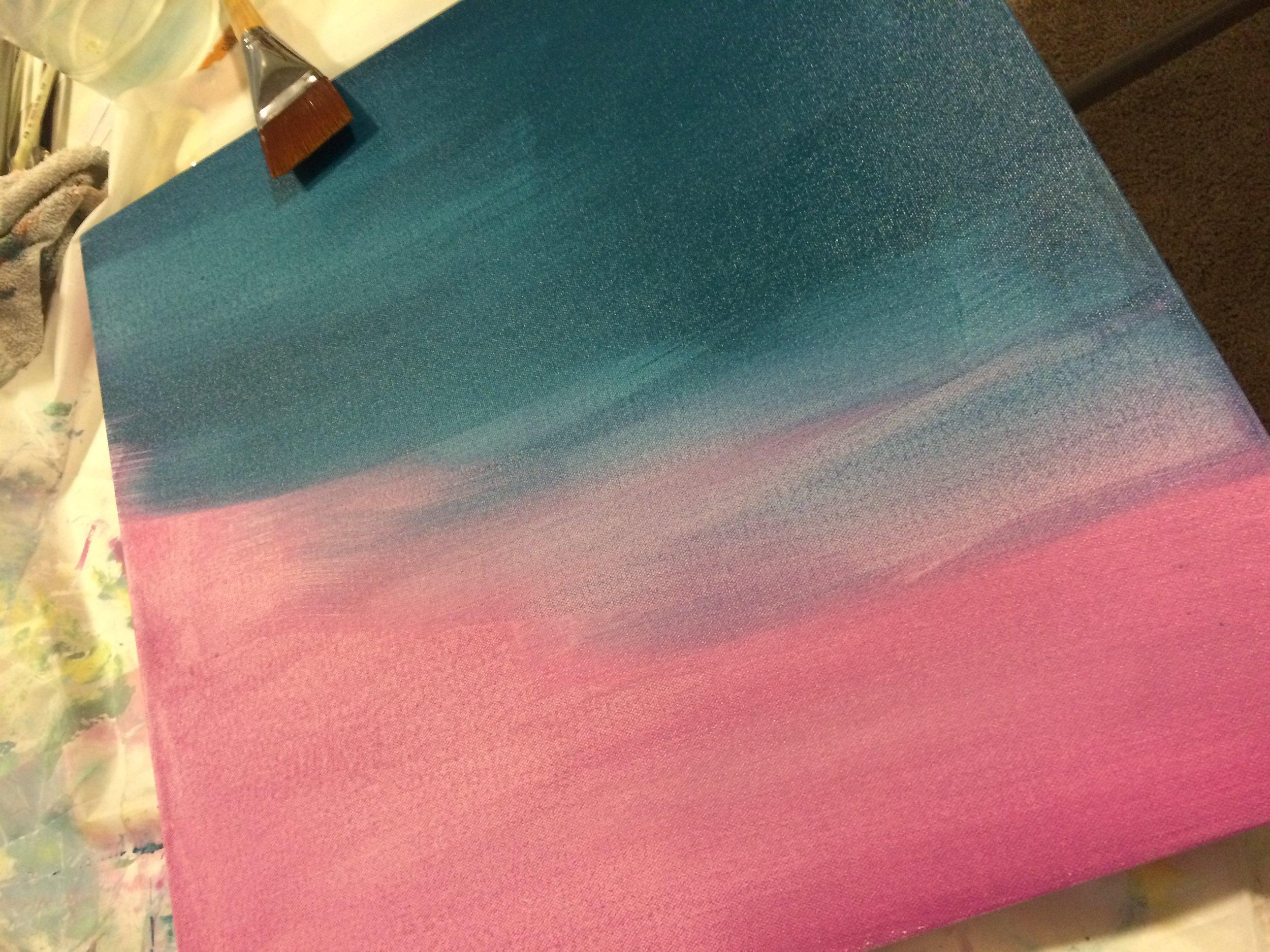 underlayer painting
