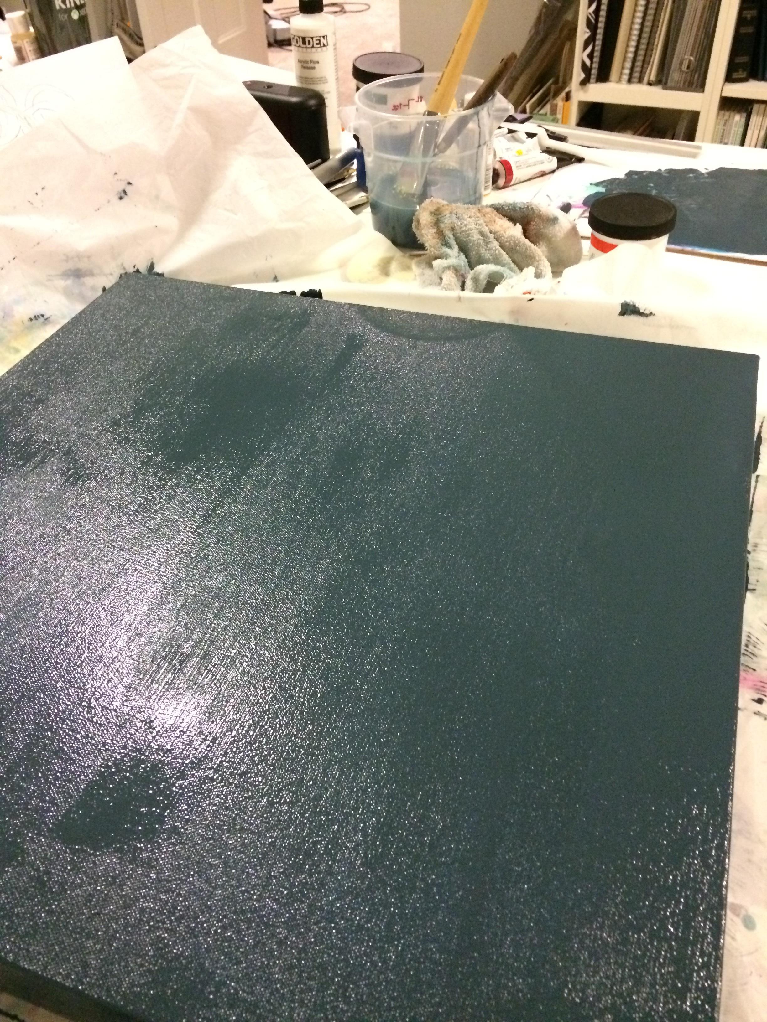 caution! fresh paint