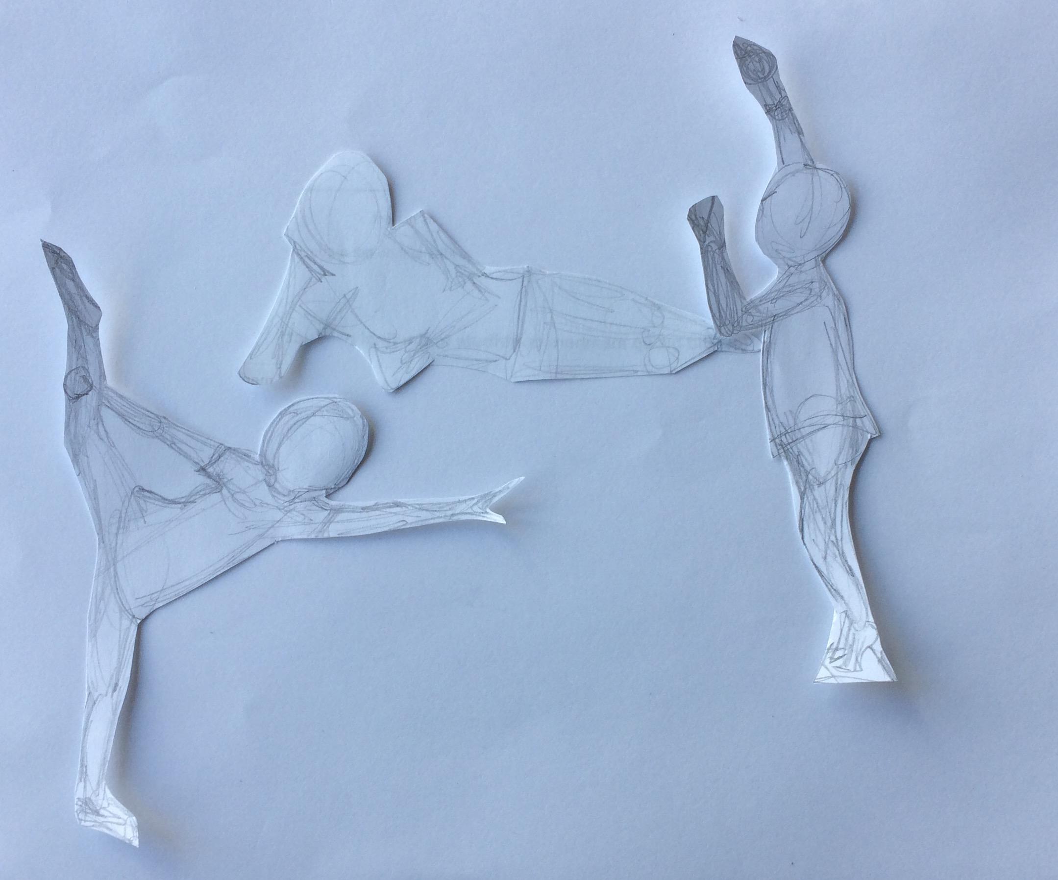cutout figures