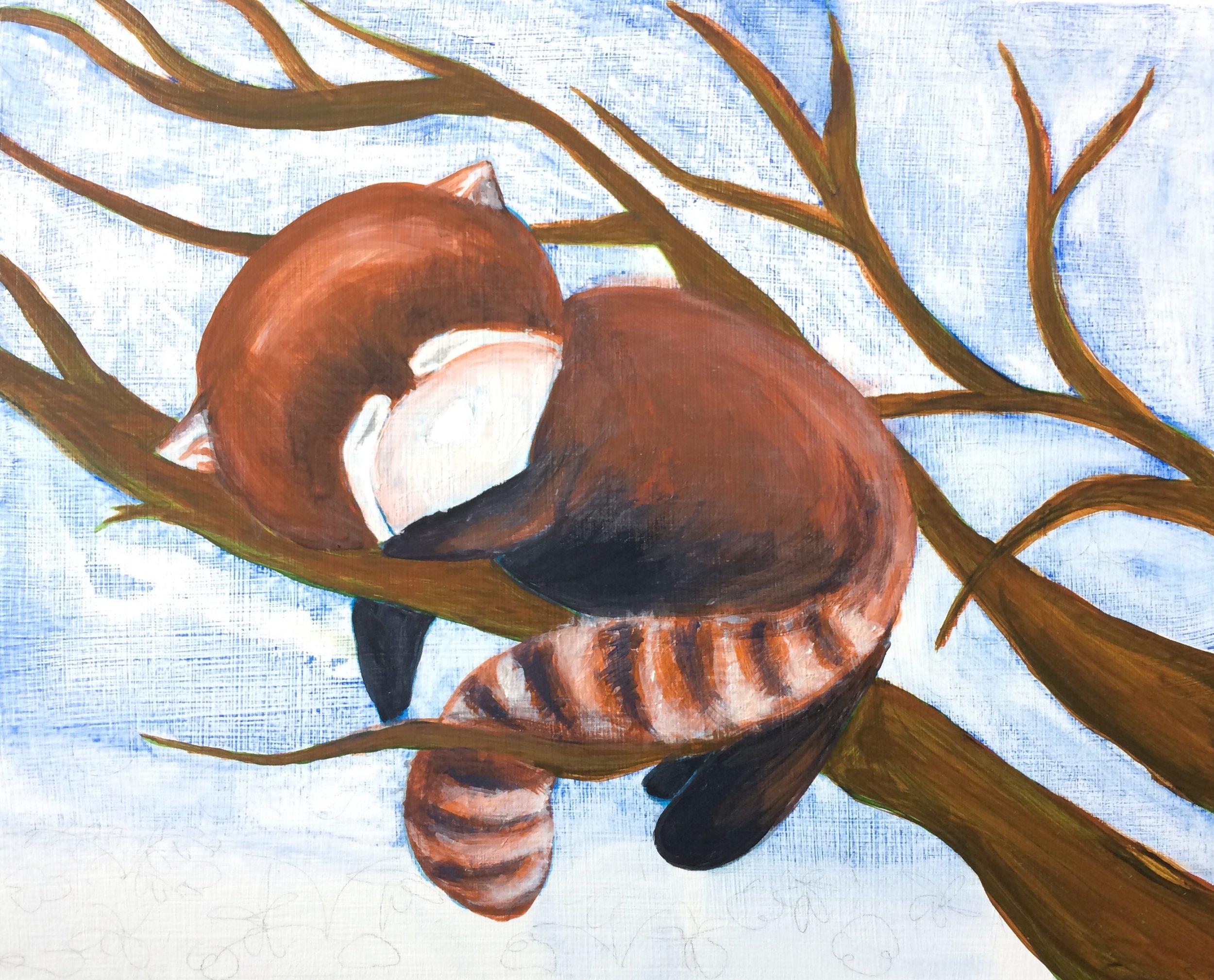 tackling the panda