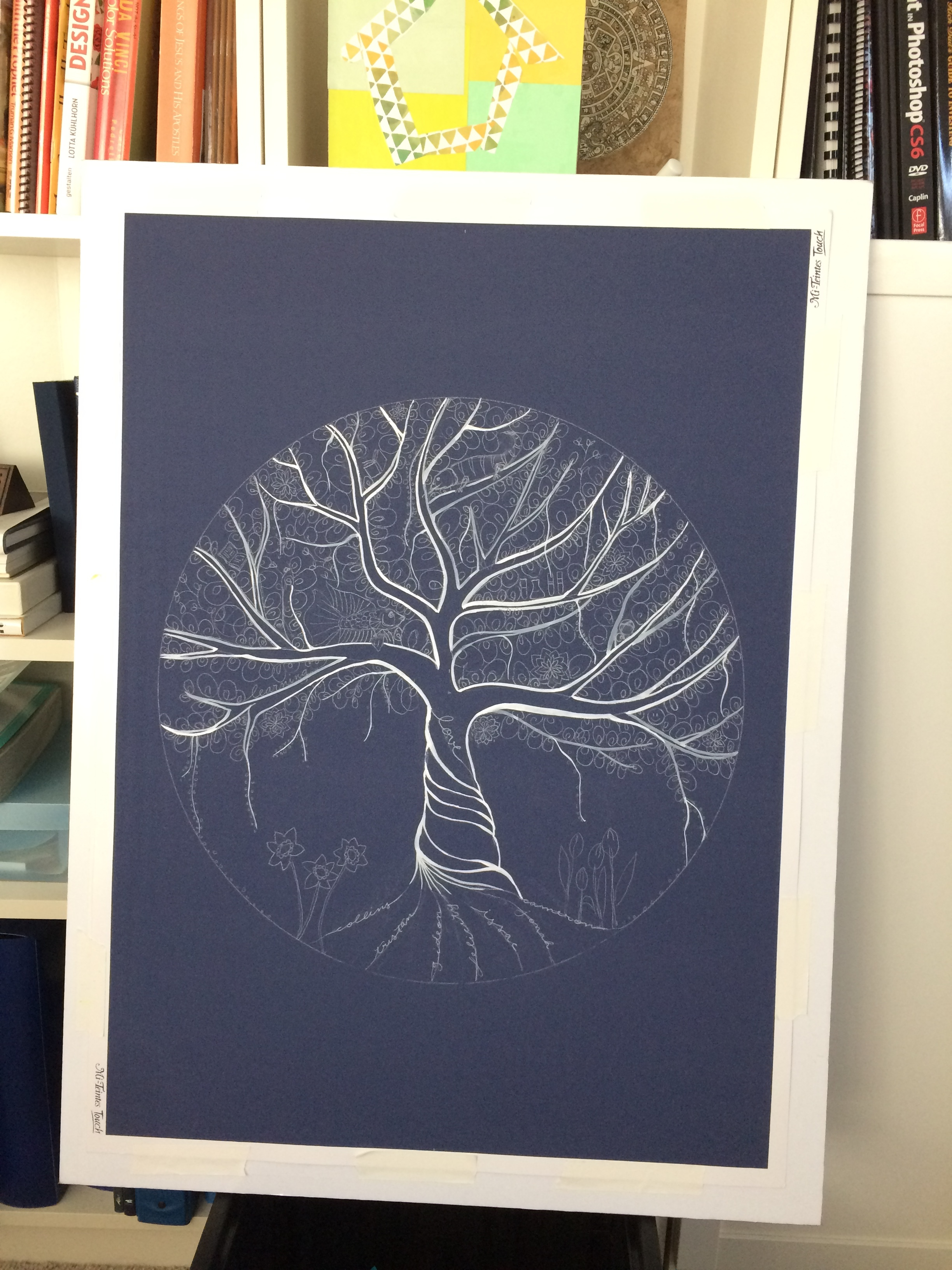 inking the tree