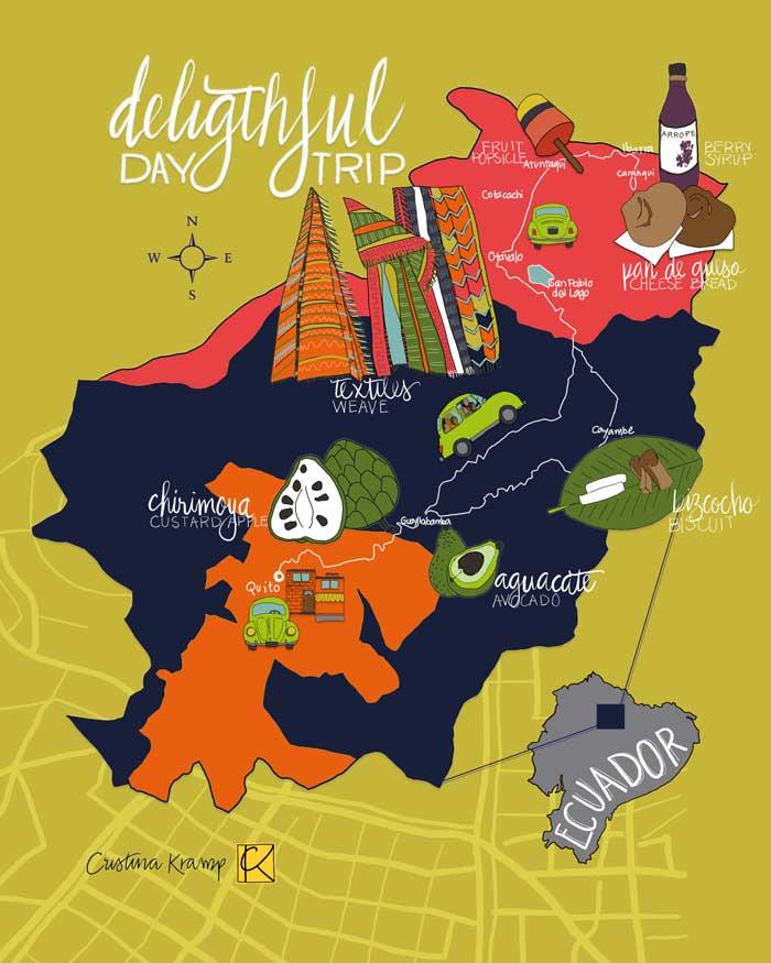digital map illustration