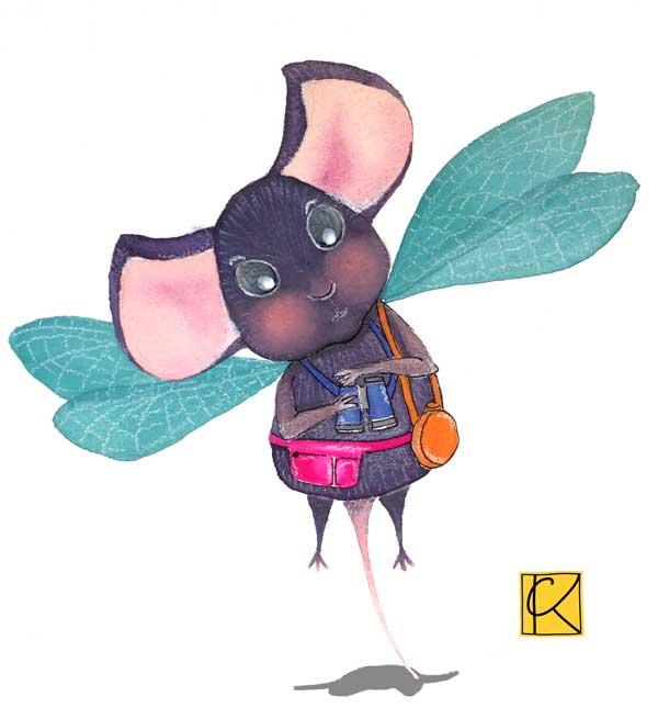 gouache, children's book illustration