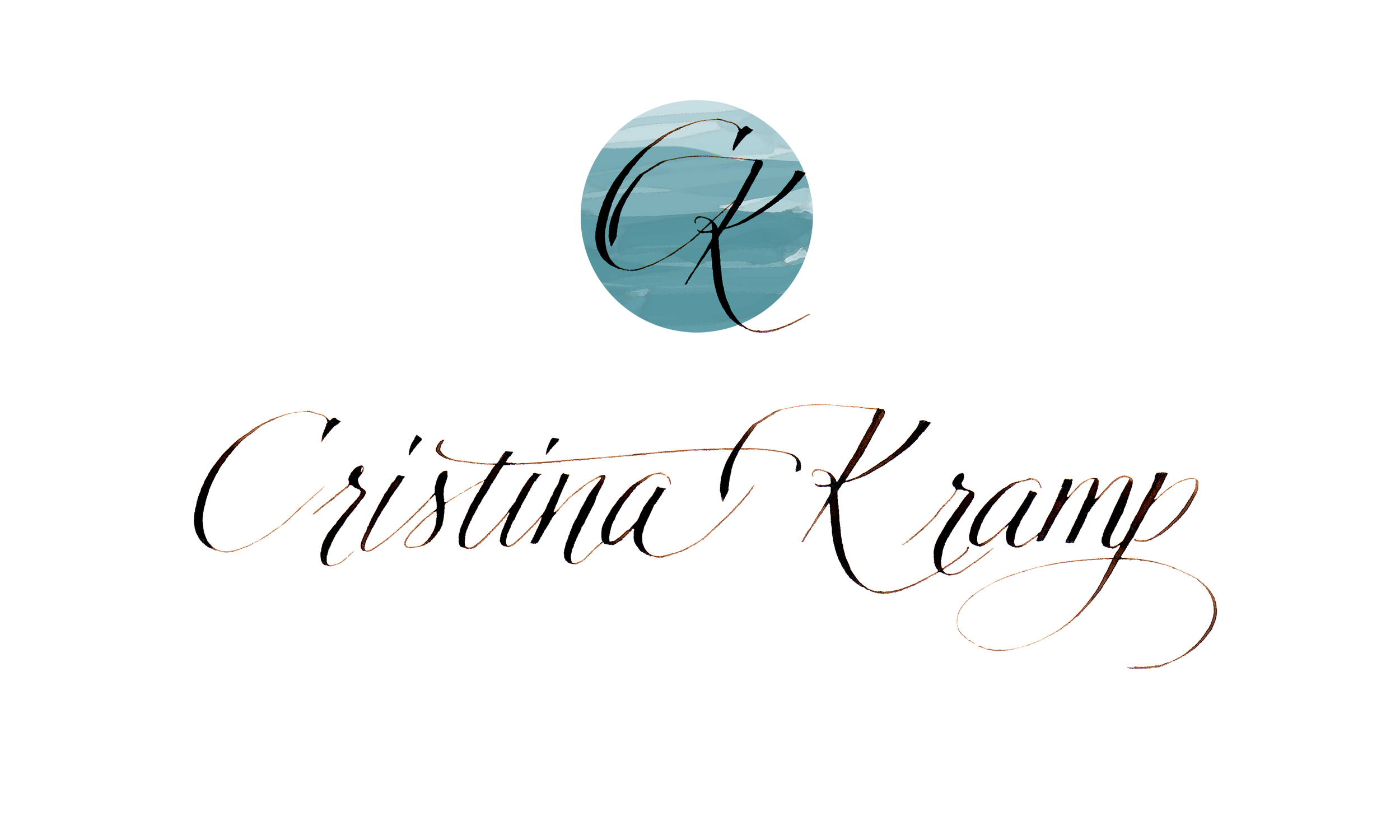 I still love the lettering of the name, but it was a bit formal and didn't fit with the vibe I was going for with my new website. Years of practice went into writing this one.