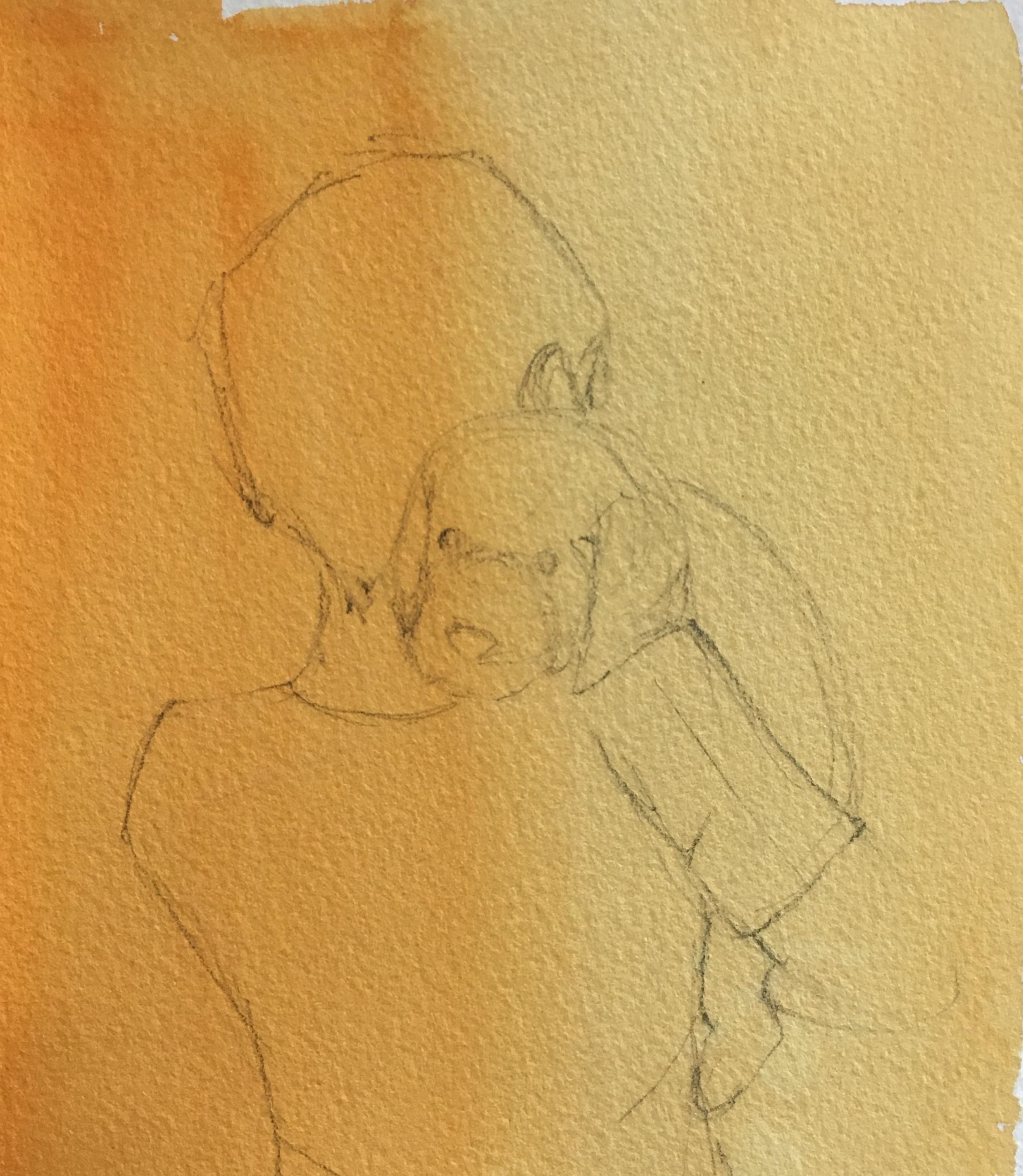 sketching it