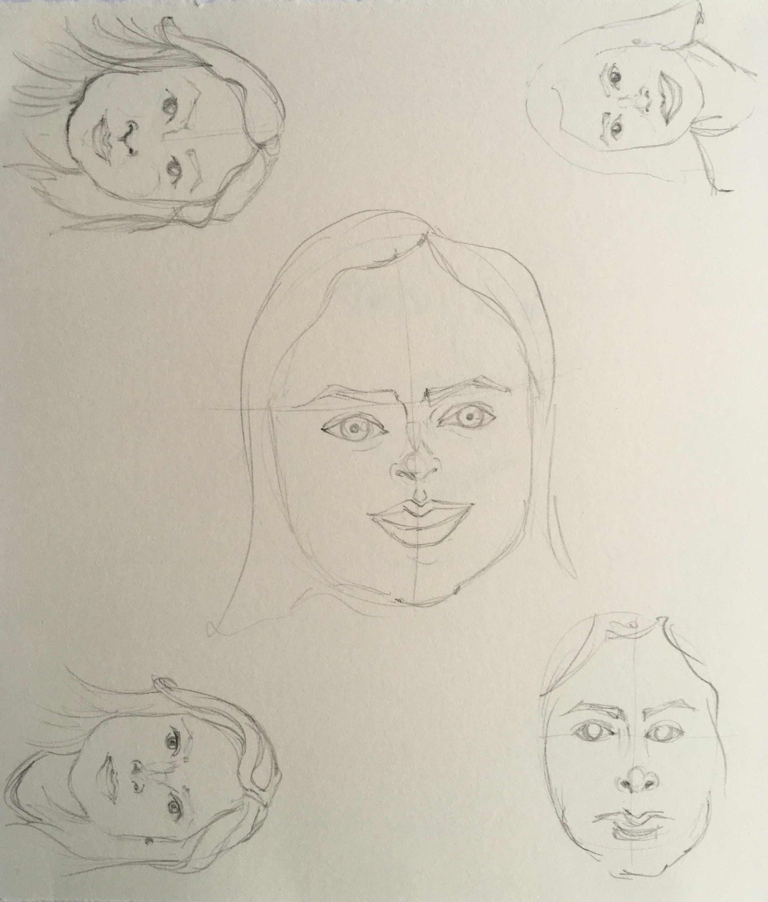 tracing, scaling, pencil this time