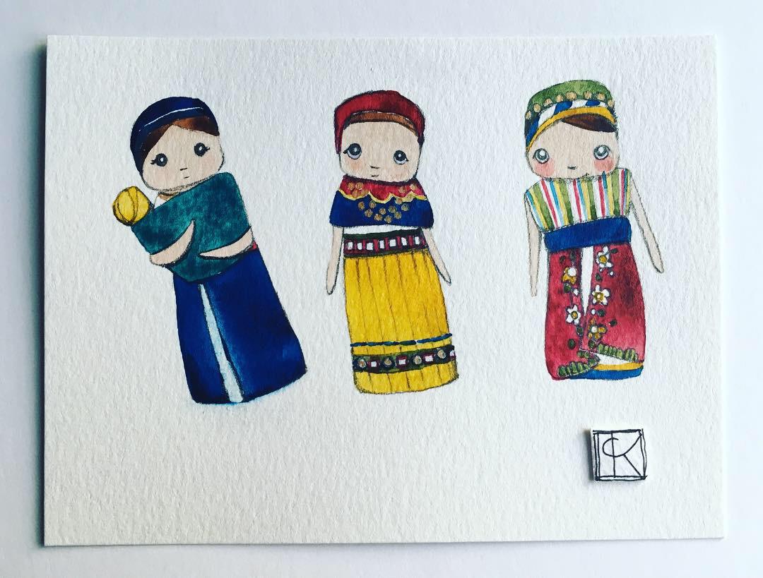 the original illustrations