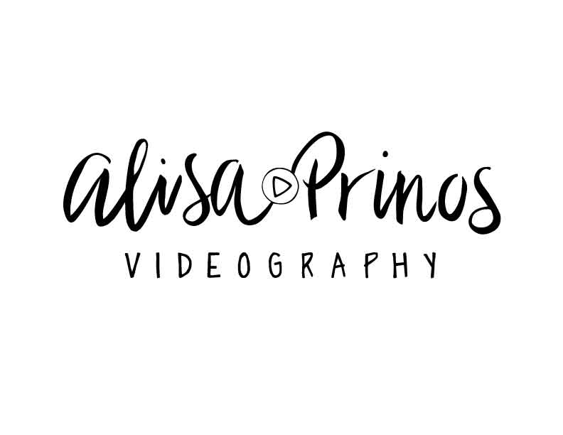 digital logo for Alisa prinos - videography