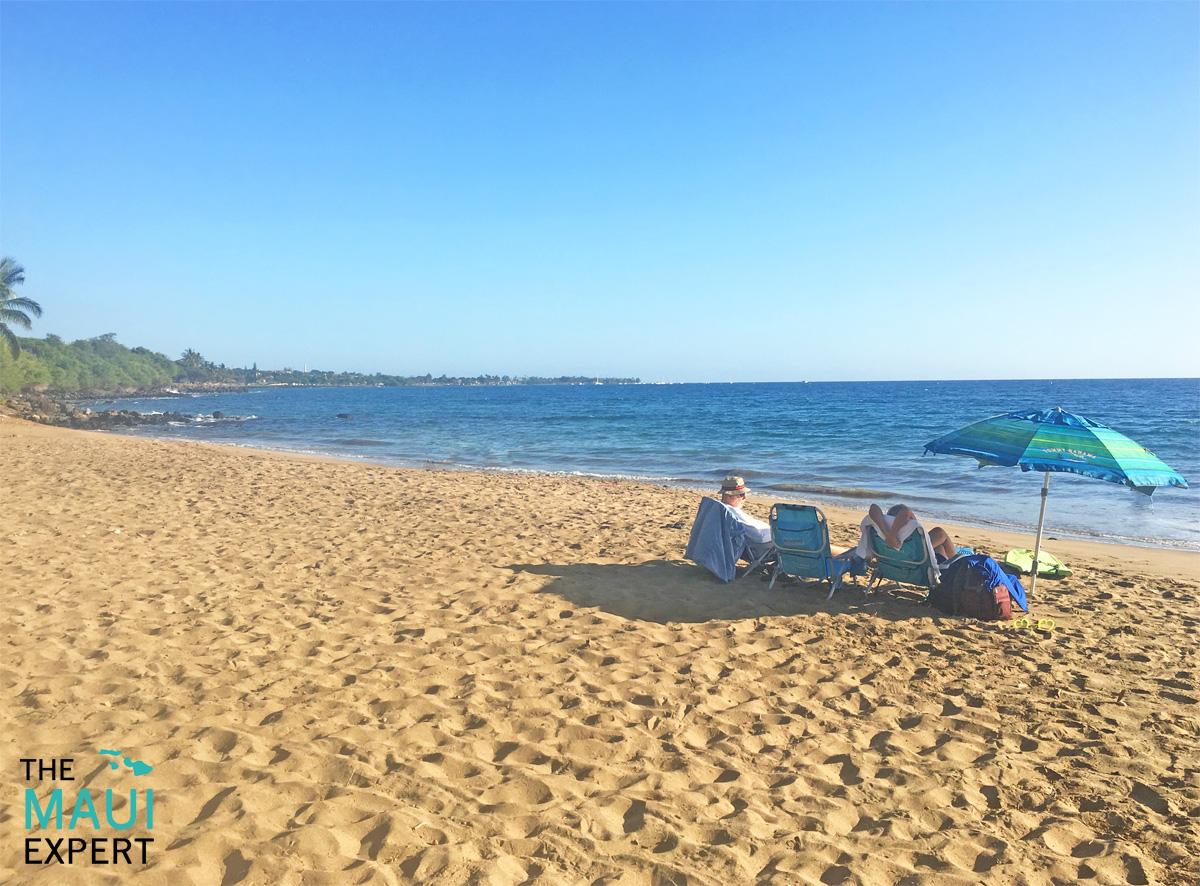 Hanako'o Beach Park Canoe Beach Lahaina Kaanapali Maui